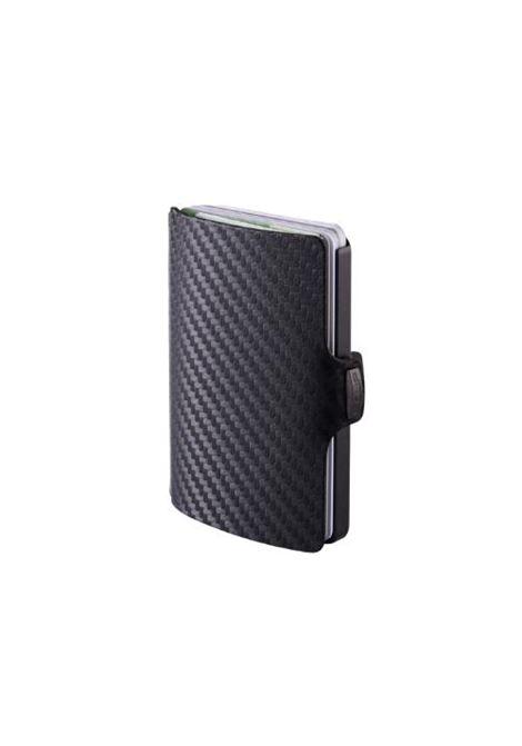 Porta carte di credito Carbon I CLIP | 15136CARBON GUN METAL