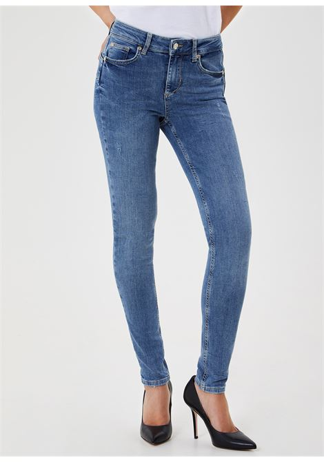 Jeans skinny a vita alta LIU.JO | UA1013 D452678109