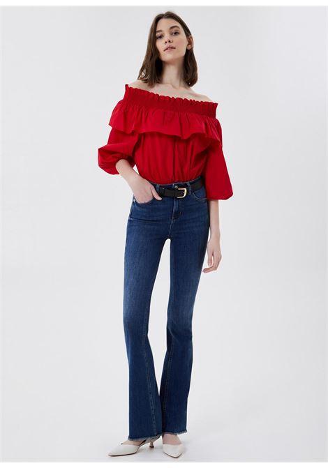 Jeans a zampa in denim stretch LIU.JO | UA1015 D453878138