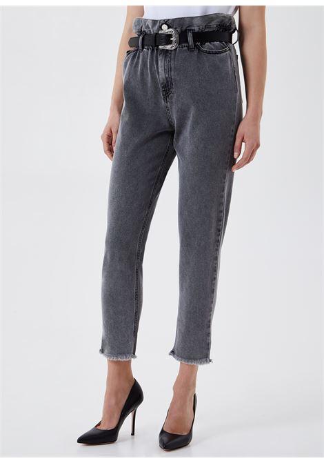 Jeans vita alta con cintura LIU.JO | UA1072 D462387275