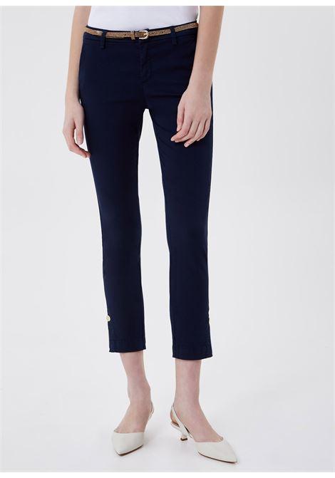 Pantalone chino chic regular con cintura LIU.JO | WA1091 T925793923