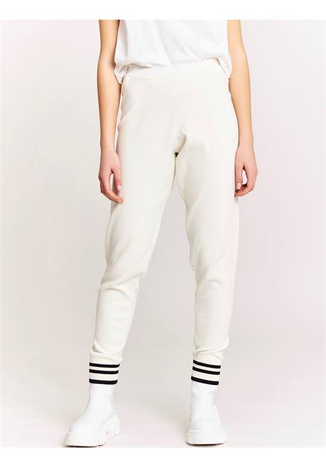 pantalone con polsino VICOLO | 2069HLATTE NERO