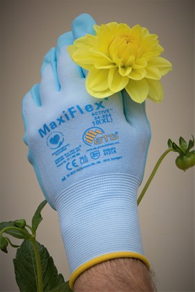 Gardening Gloves Size 10 (yellow cuff)