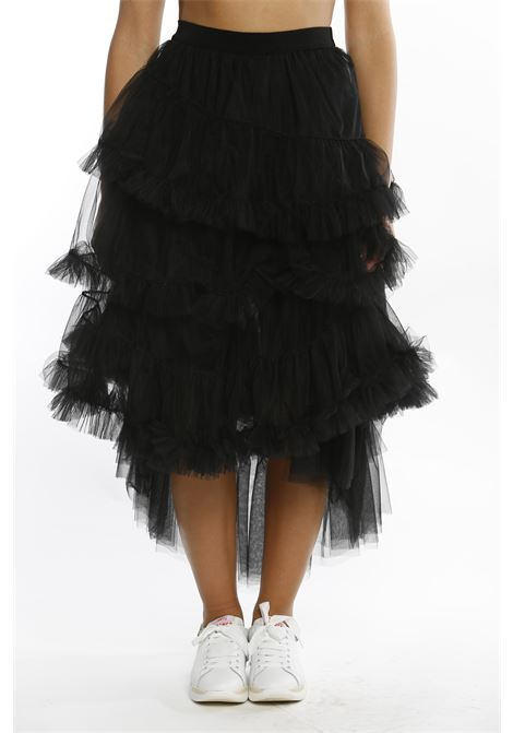 Gonna in tulle nero aniye by ANIYE BY | Gonna | 18119400002NERO