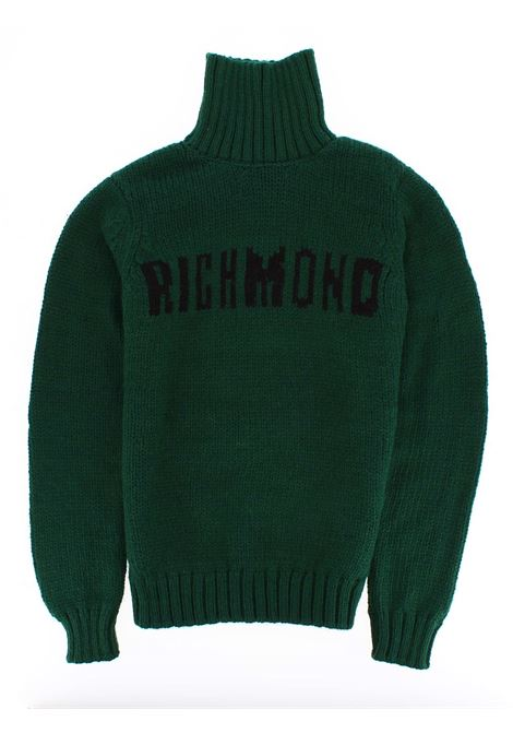 Lupetto in maglia John Richmond John Richmond | Lupetto | RGA19242LUNEW GREEN