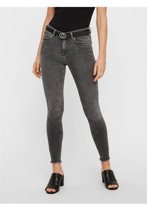JEANS SKIN GREY PIECES | Jeans | 17087092GREY DENIM