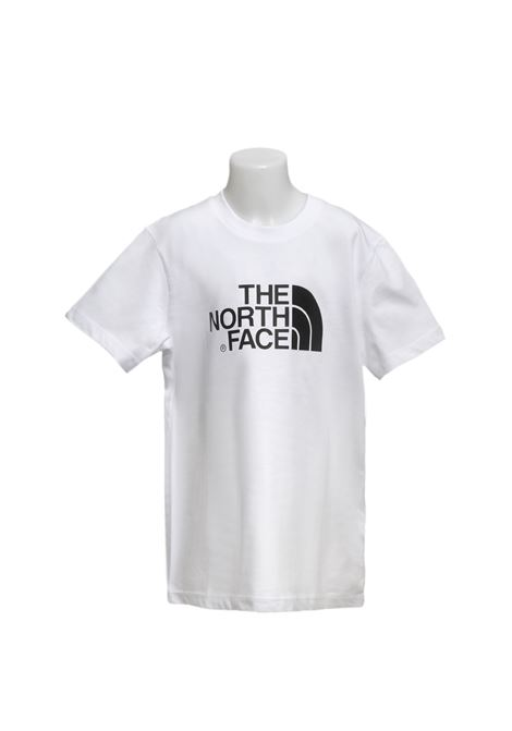 T-shirt in cotone manica corta THE NORTH FACE | T-shirt | T0A3P7TLBTNF WHIT/TNF WHT/TNF BLCK