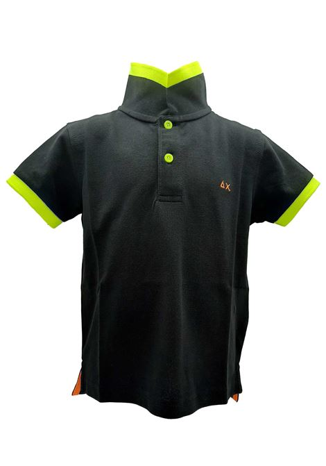 BOY'S POLO BIG STRIPES FLUO SUN 68 | Polo | A1931911