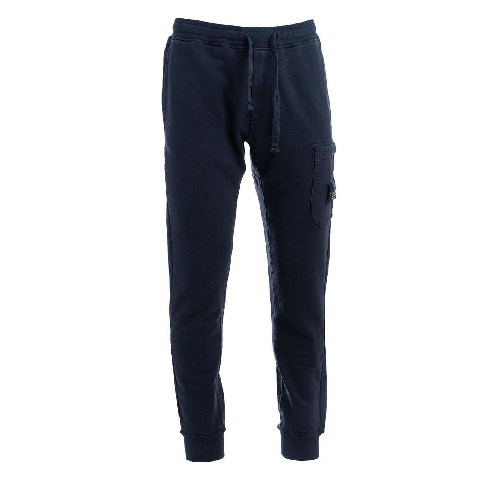 pantalone fleece STONE ISLAND | Pantalone | 751564520V0029