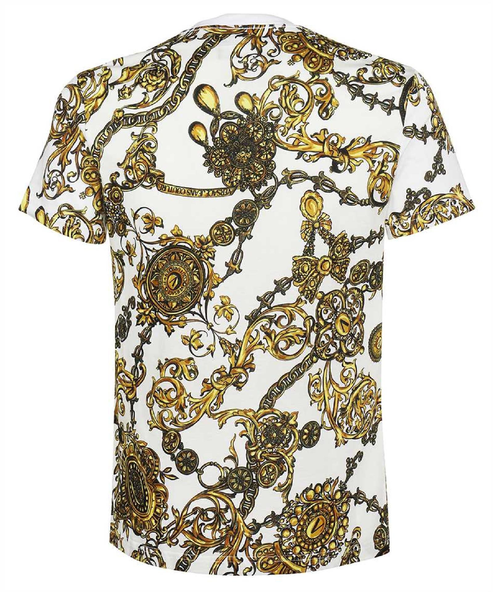 VERSACE JEANS   T-shirt   71GAH6S0 JS015G03