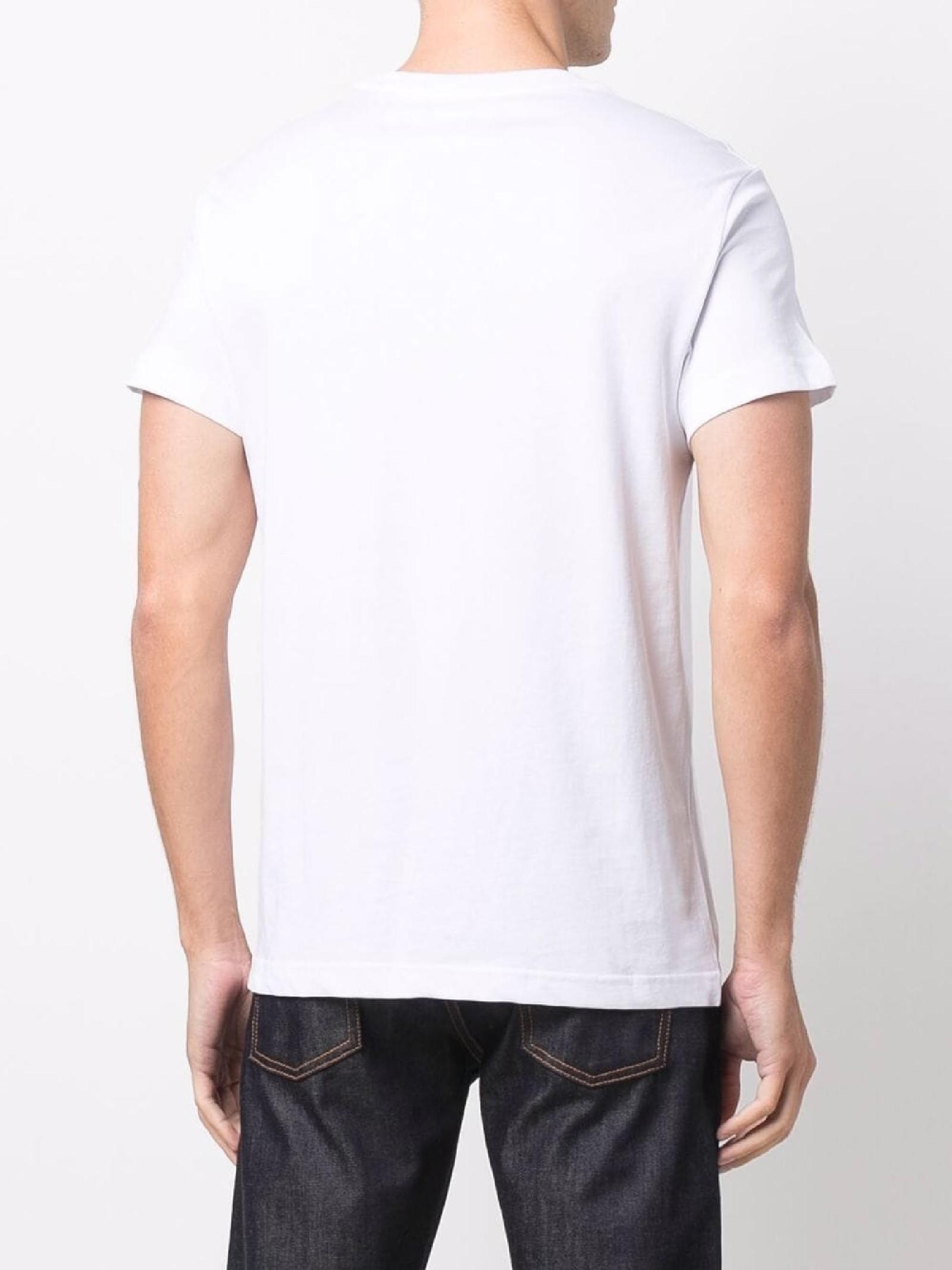 t-shirt maiche corte e stampa VERSACE JEANS   T-shirt   71GAHT12 CJ00TG03