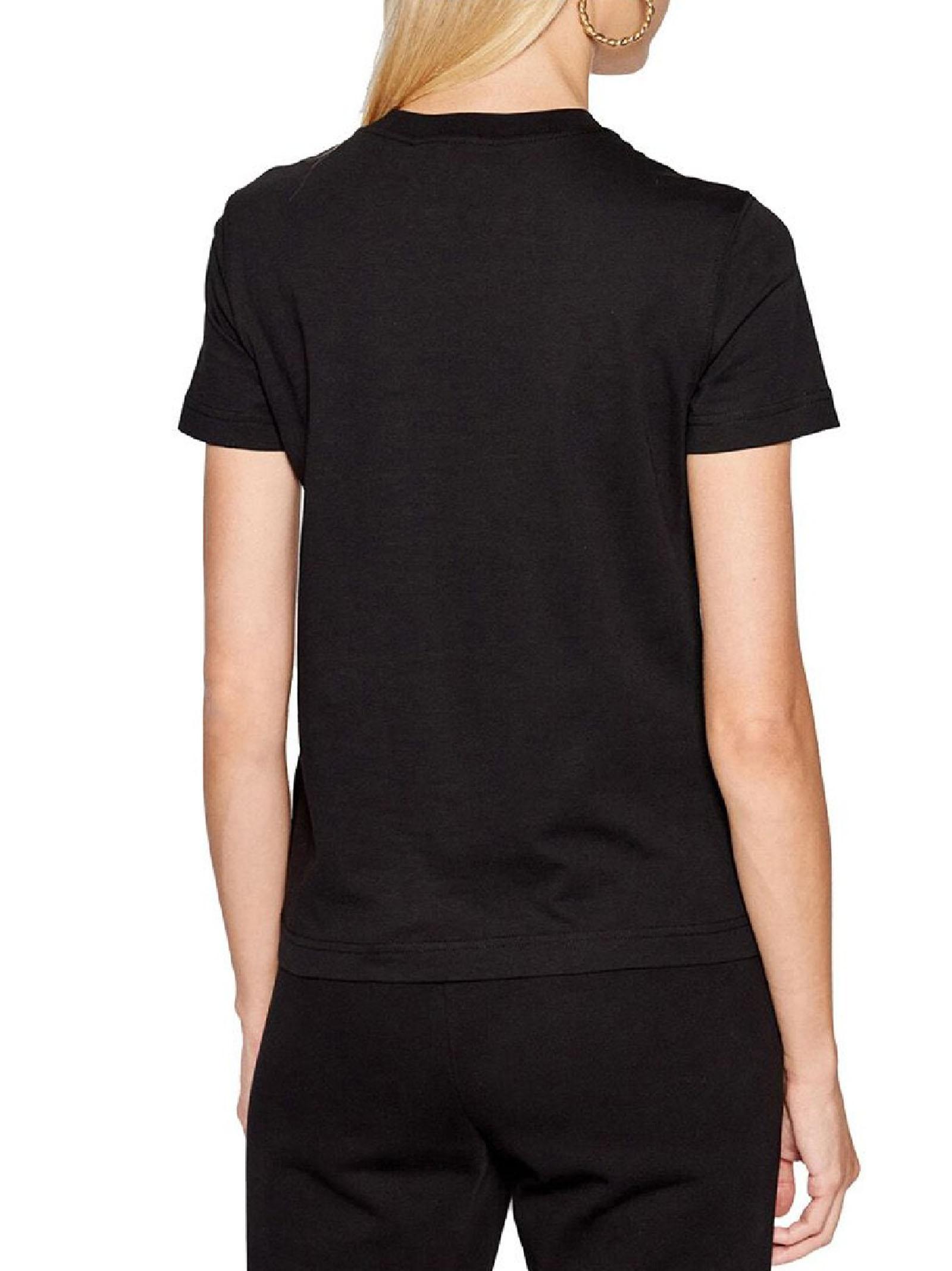 t-shirt maniche corte e stampa VERSACE JEANS | T-shirt | 71HAHF06 CJ00FG89