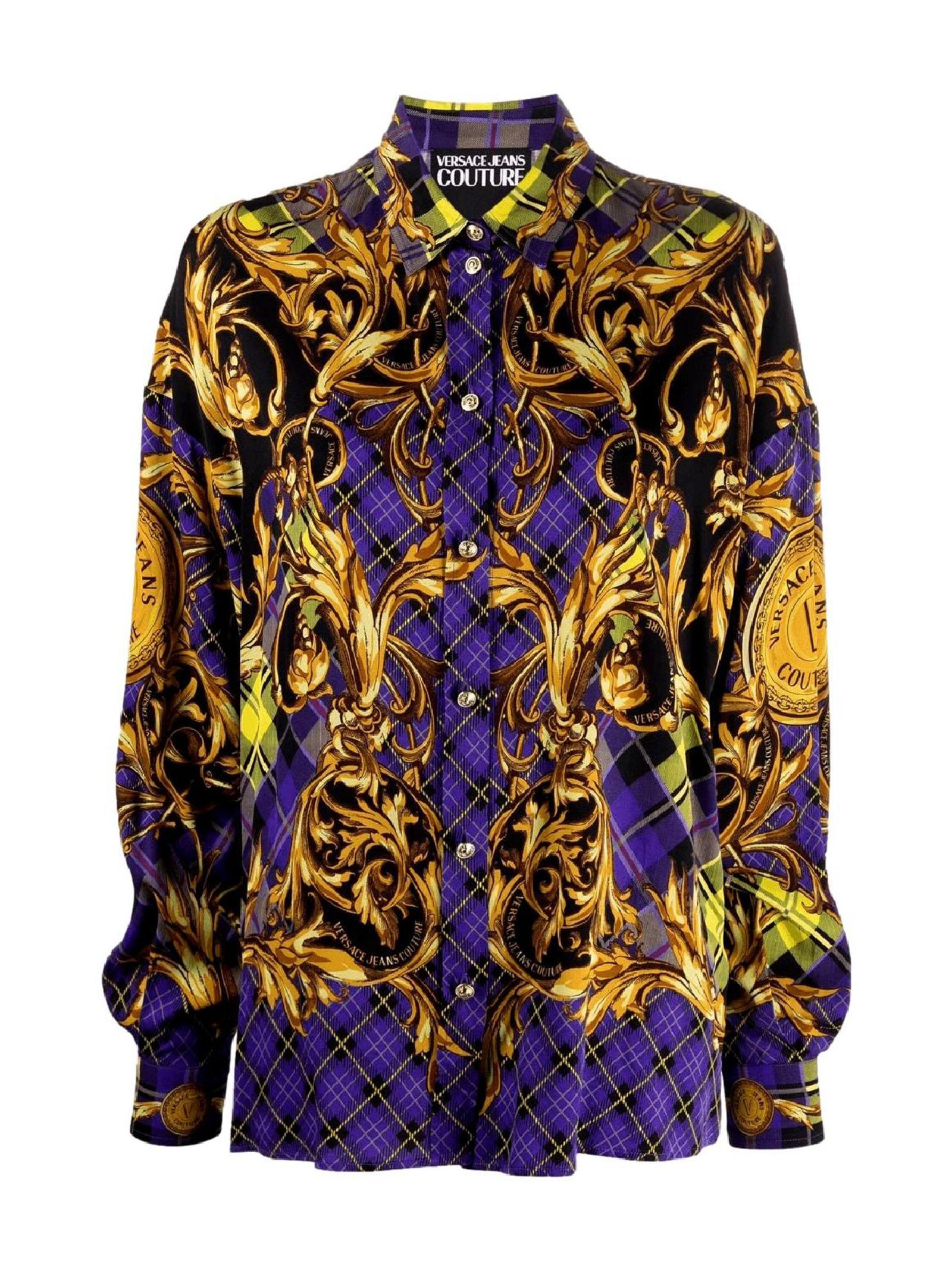 camicia con stampa VERSACE JEANS | Camicia | 71HAL2P1 NS039G37