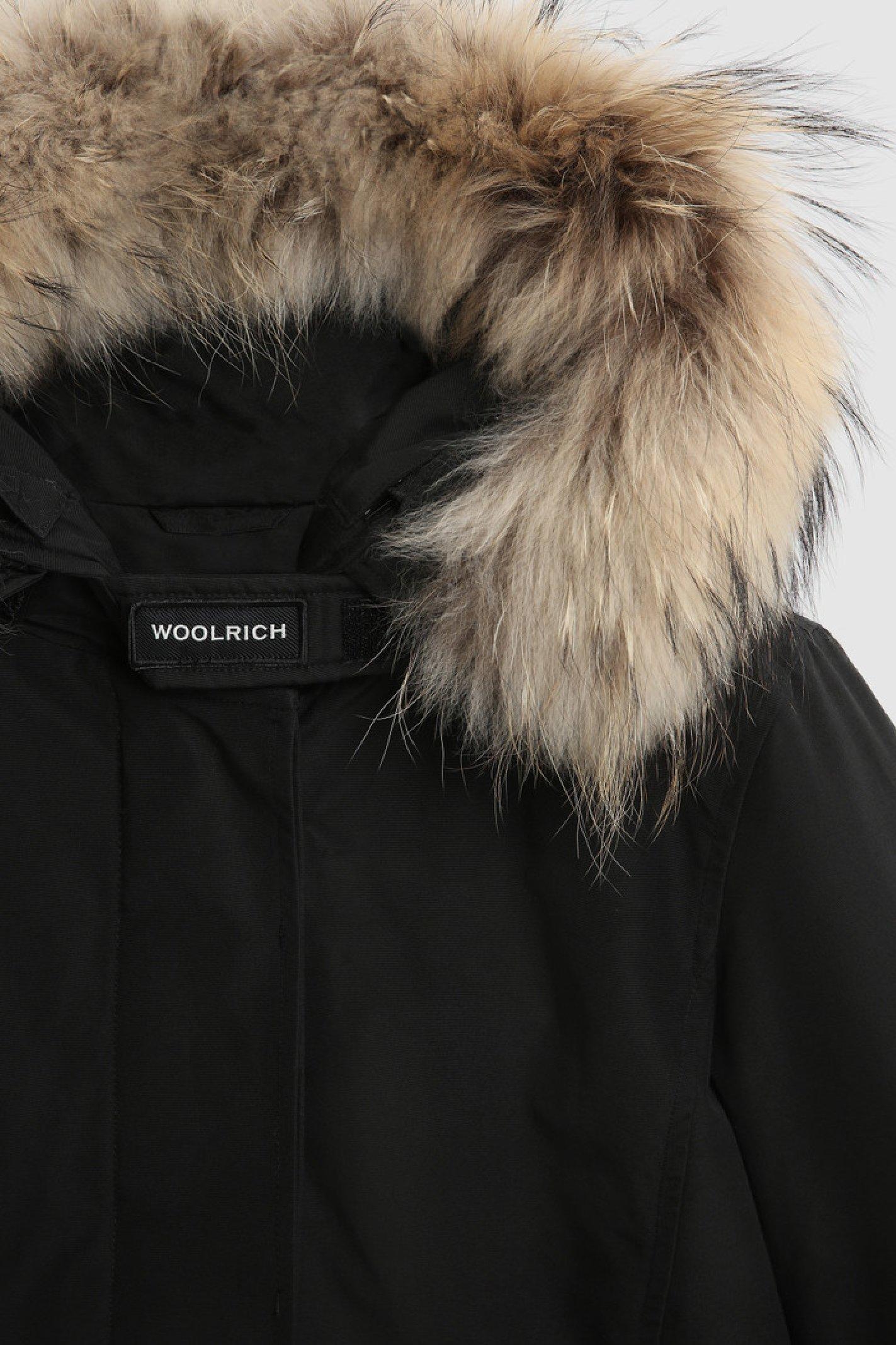 artic racoon short parka WOOLRICH | Parka | CFWWOU0548 FRUT0001BLK