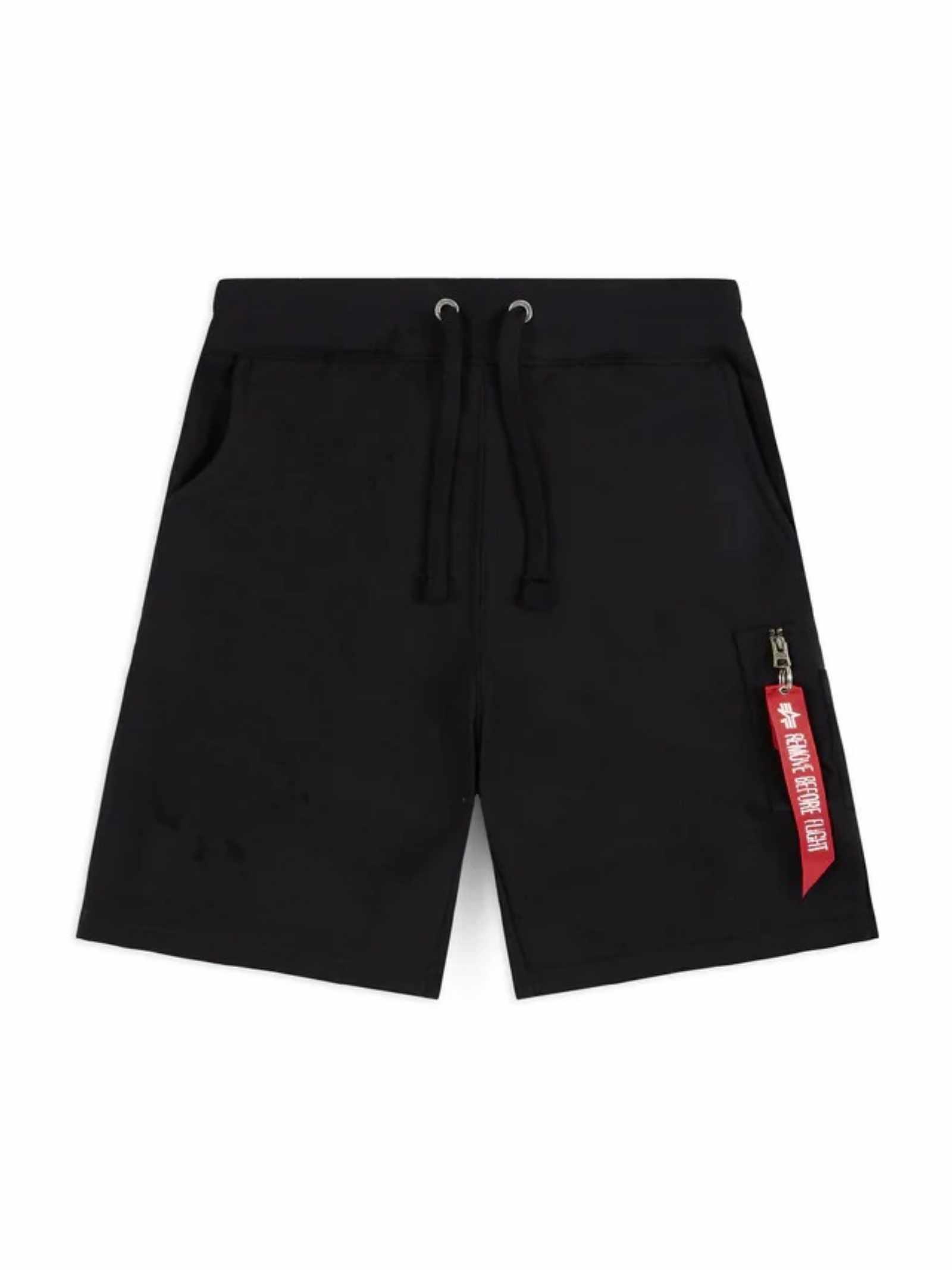 Pantaloncino in tuta nero ALPHA INDUSTRIES   Shorts   16630103