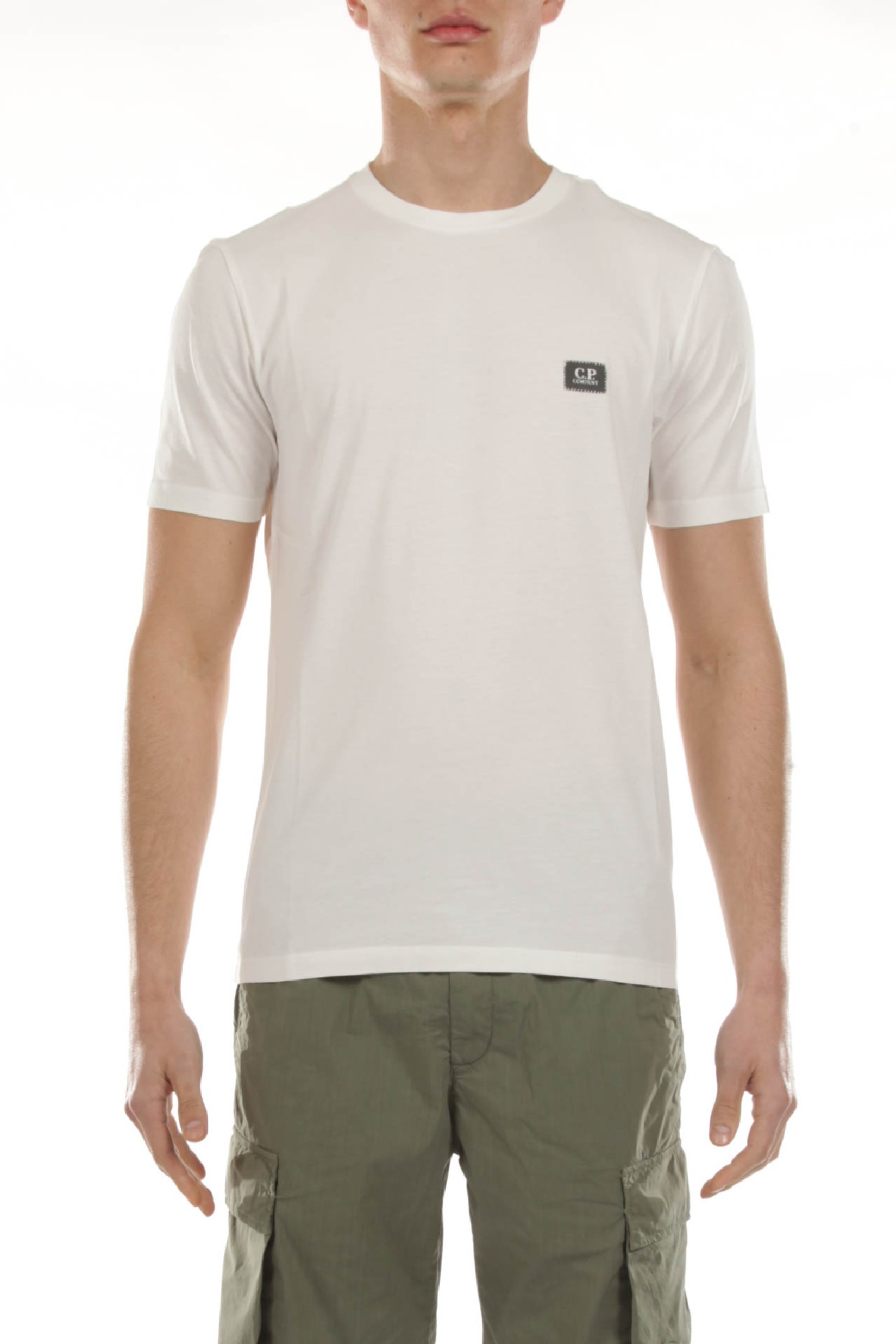 T- shirt con Stampa C.P. COMPANY | T-shirt | MTS063A00 5100W103