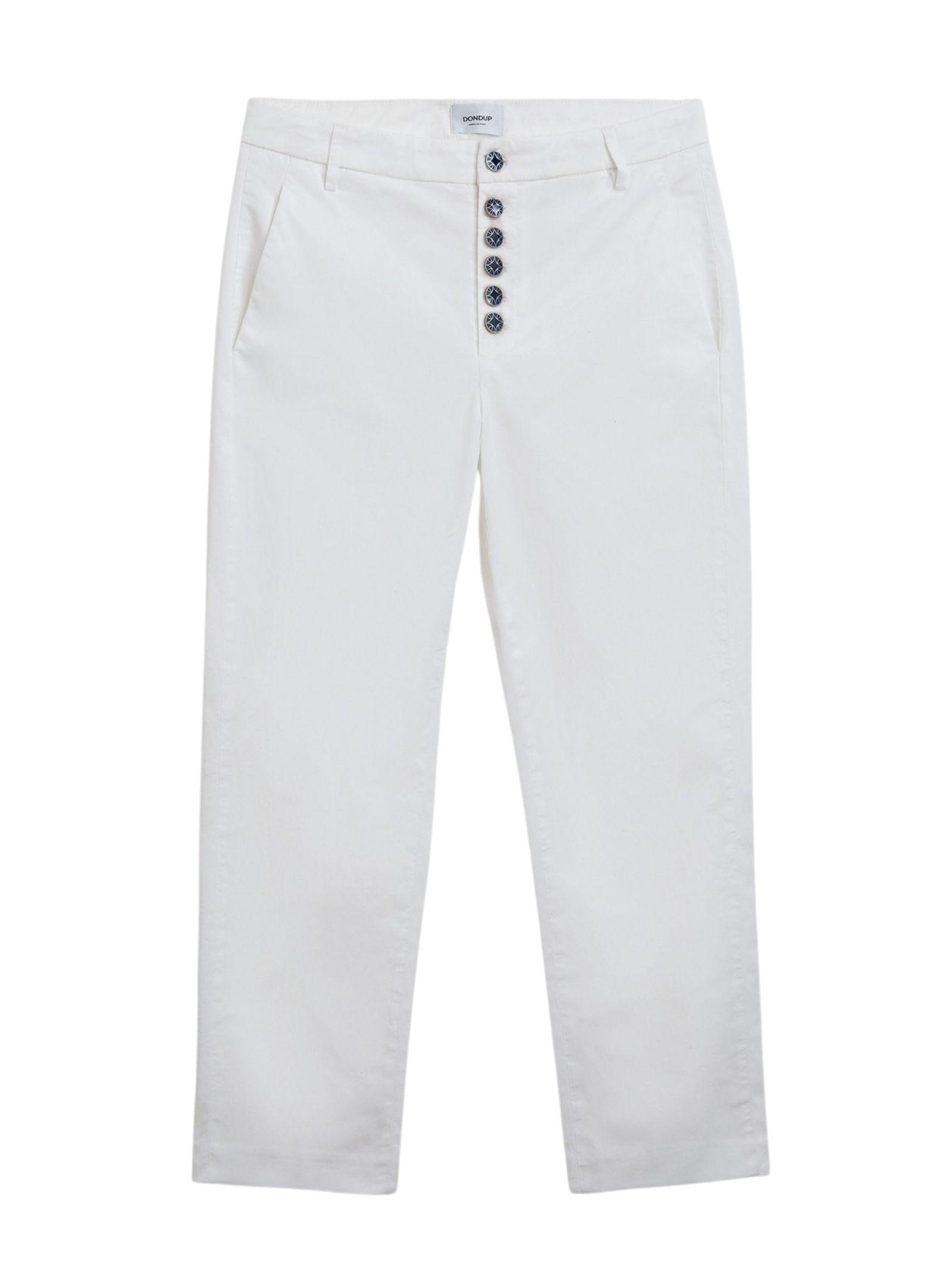 Jeans skinny denim bianco DONDUP | Pantalone | DP450B BS0026DPTD