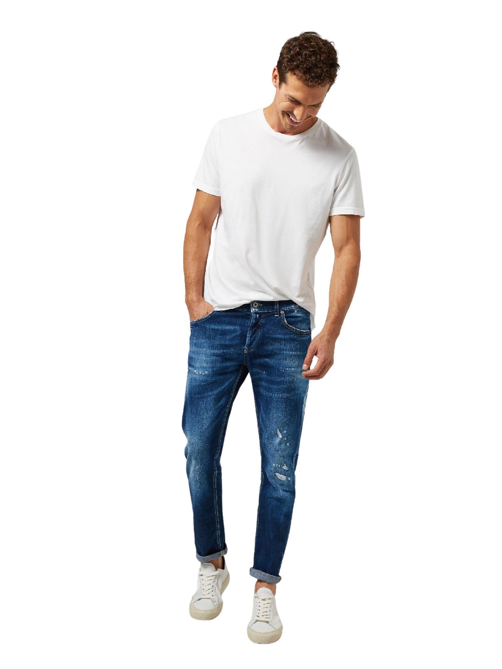 Jeans regular blu denim DONDUP   Jeans   UP168 DS0107AY4