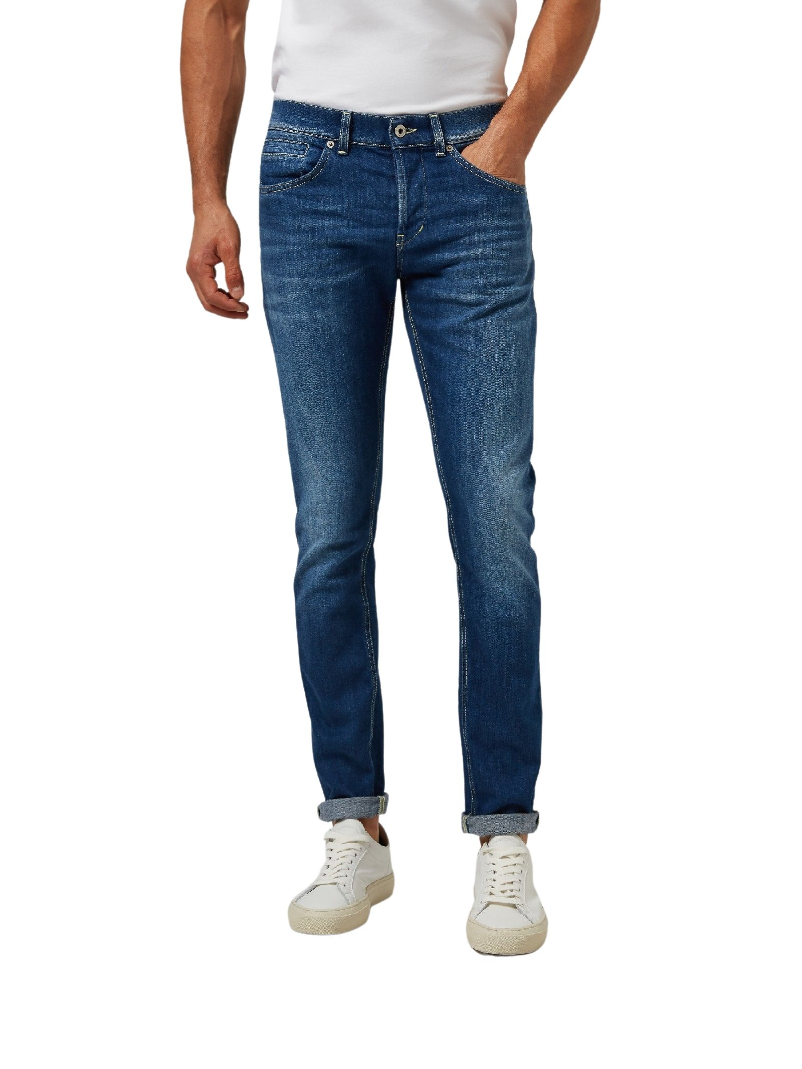 Jeans skinny blu scuro DONDUP | Jeans | UP232 DS0107UBB8