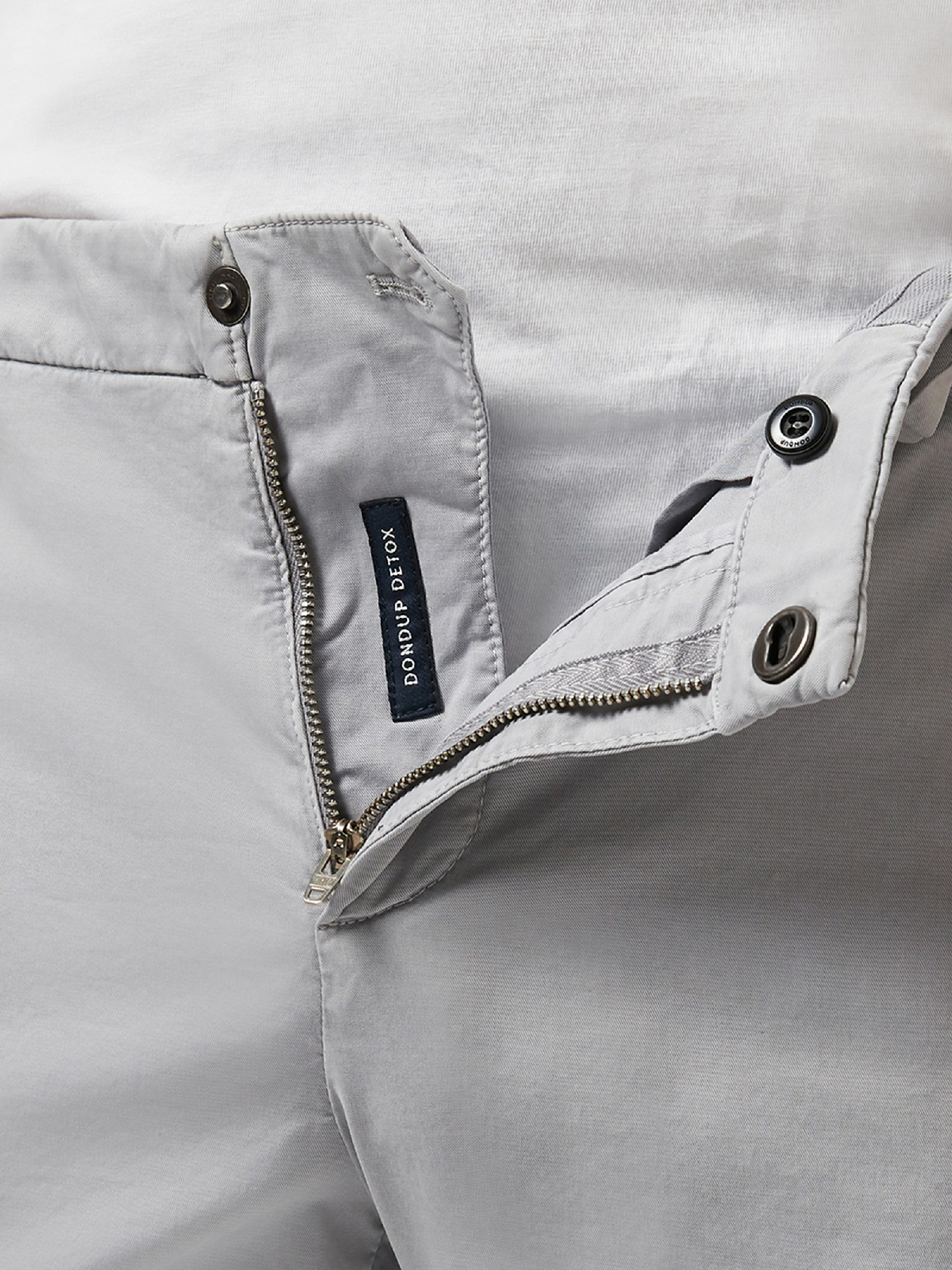 Pantalone grigio skinny fit DONDUP   Jeans   UP235 GSE046UPTD920
