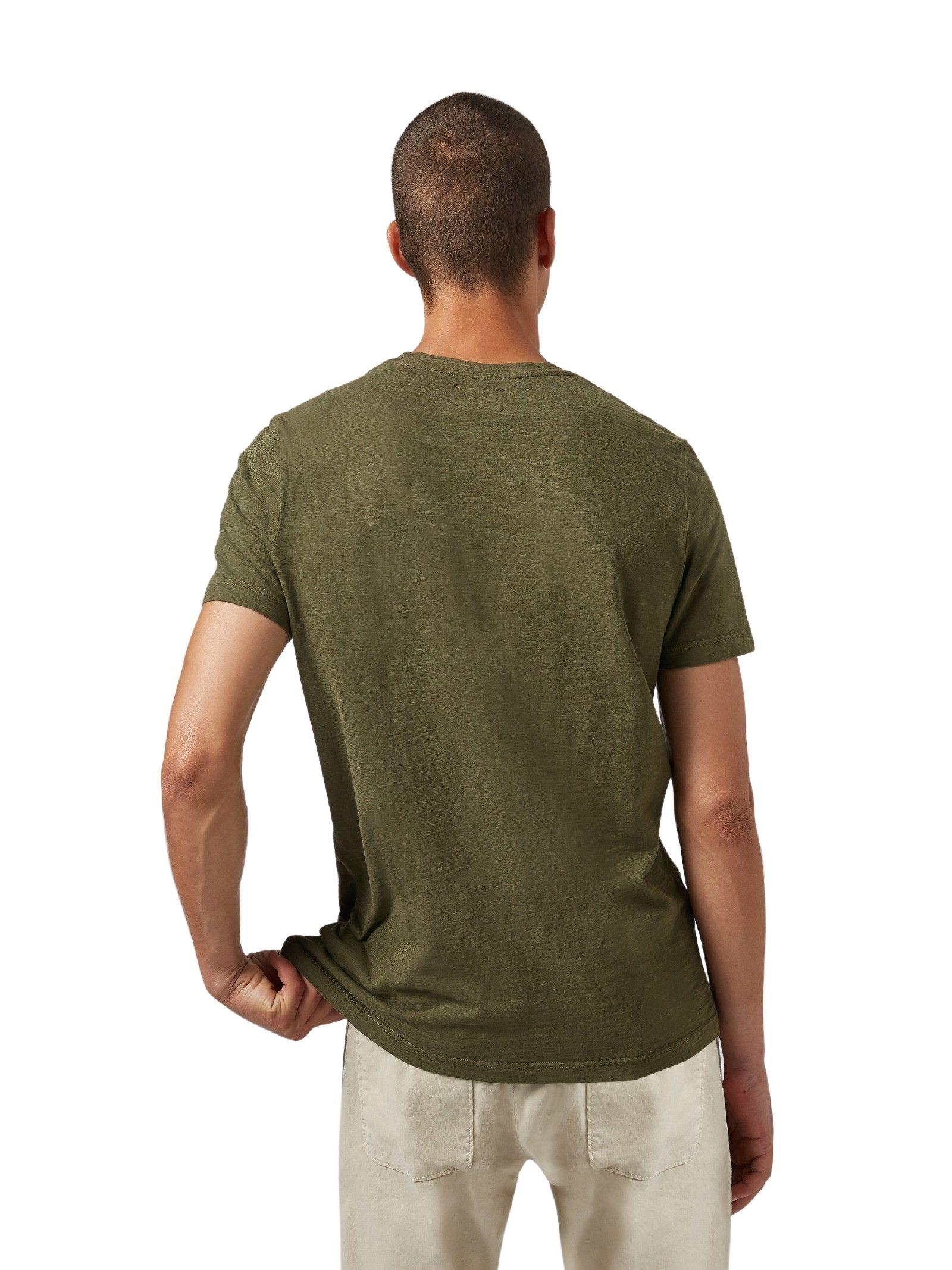 T-sirt logo verde DONDUP   T-shirt   US198 JF0915UBG7