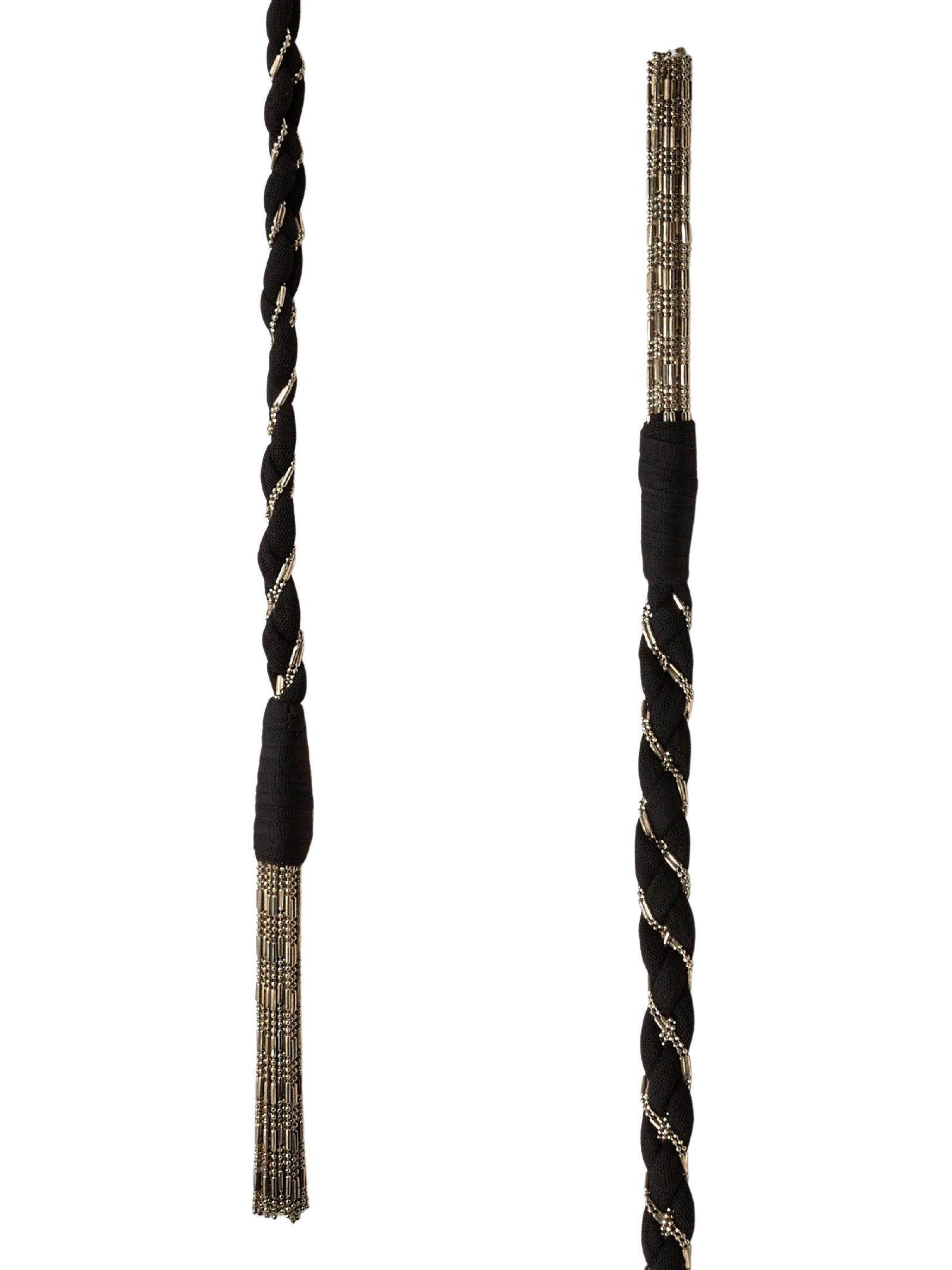 Cintura a nastro in nylon e metallo DONDUP | Cintura | WC240 Y00497DXXX 999