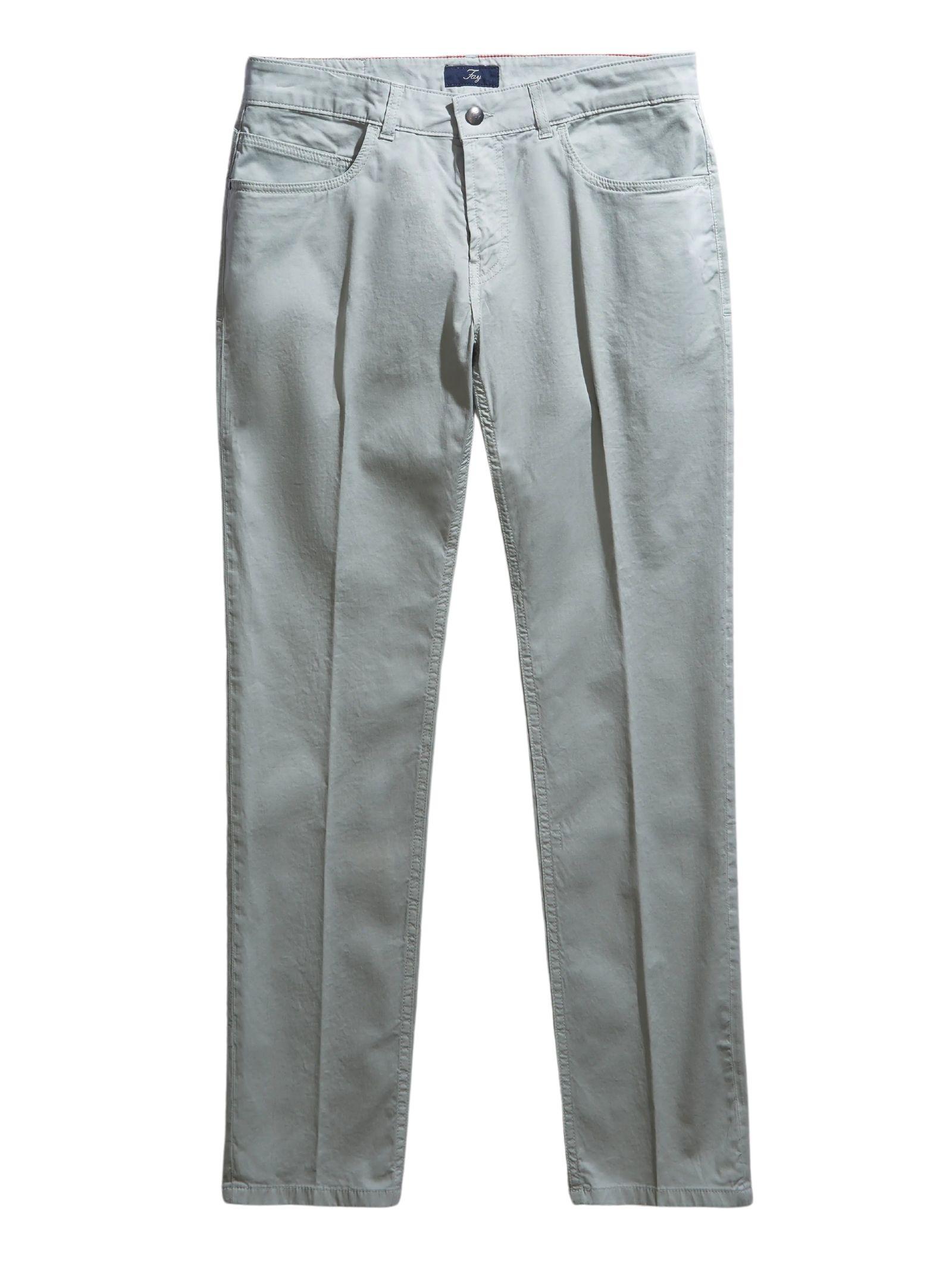 Pantalone 5 Tasche Argento FAY | Pantalone | NTM8242180TGURB200