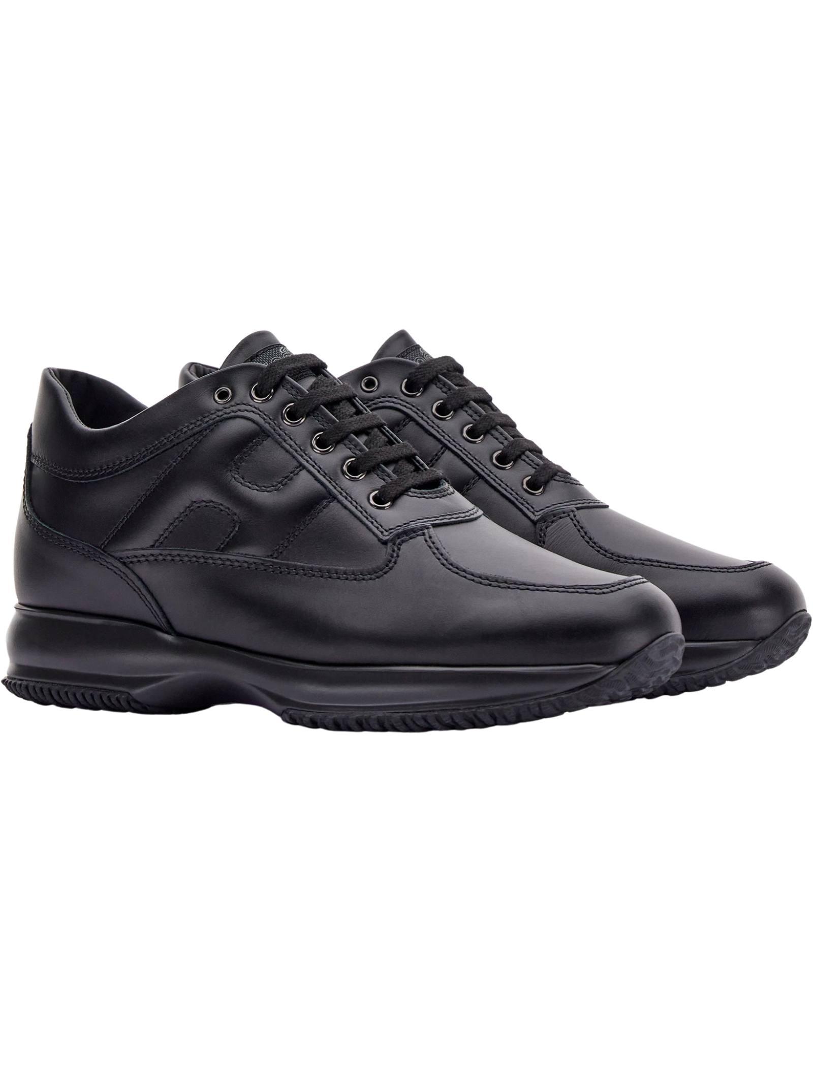 Sneakers Interactive Hogan in pelle HOGAN   Scarpe   HXM00N00010KLAB999