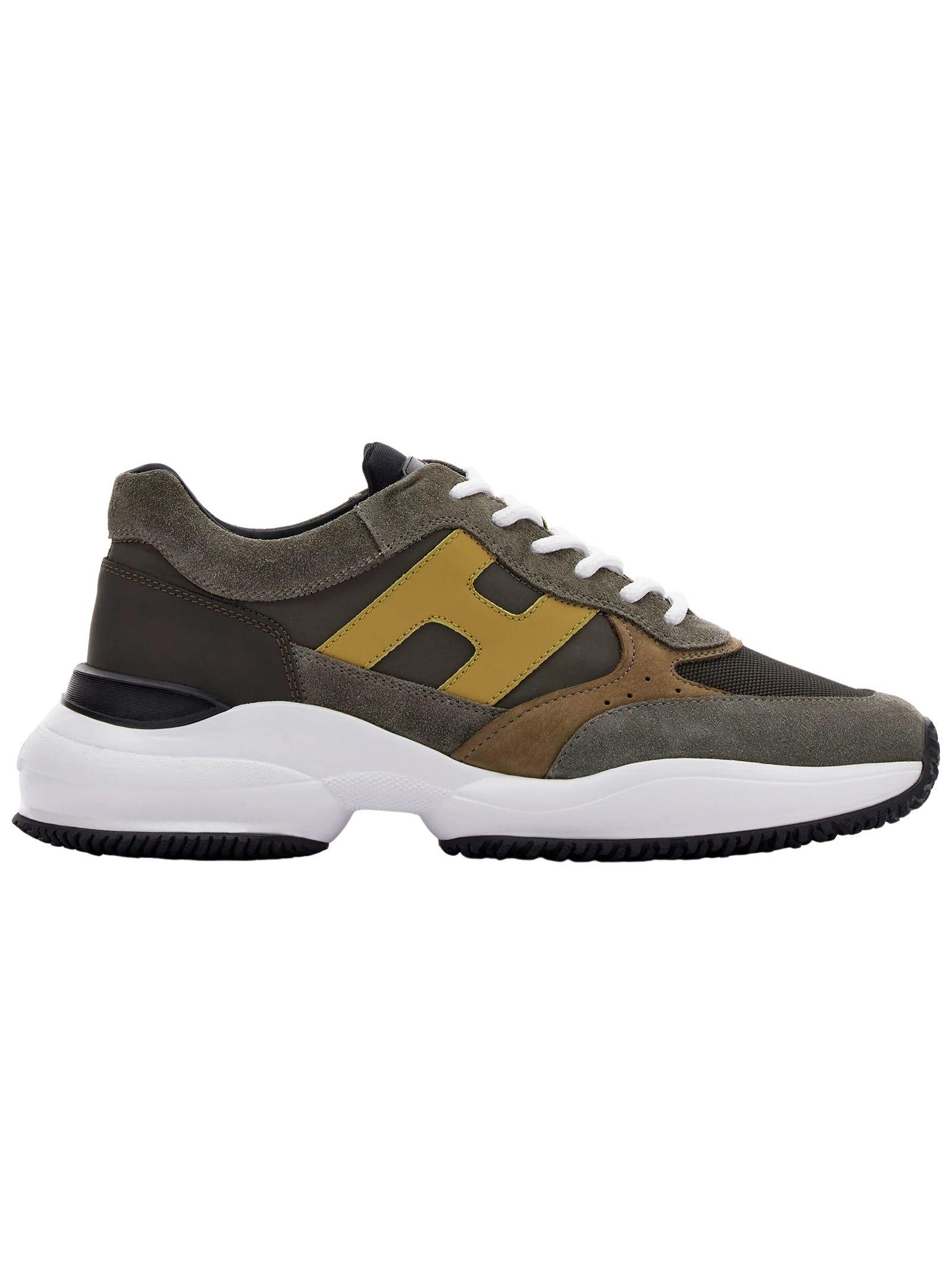 Sneakers Hogan in camoscio HOGAN   Scarpe   HXM5450DN90PNS615Z