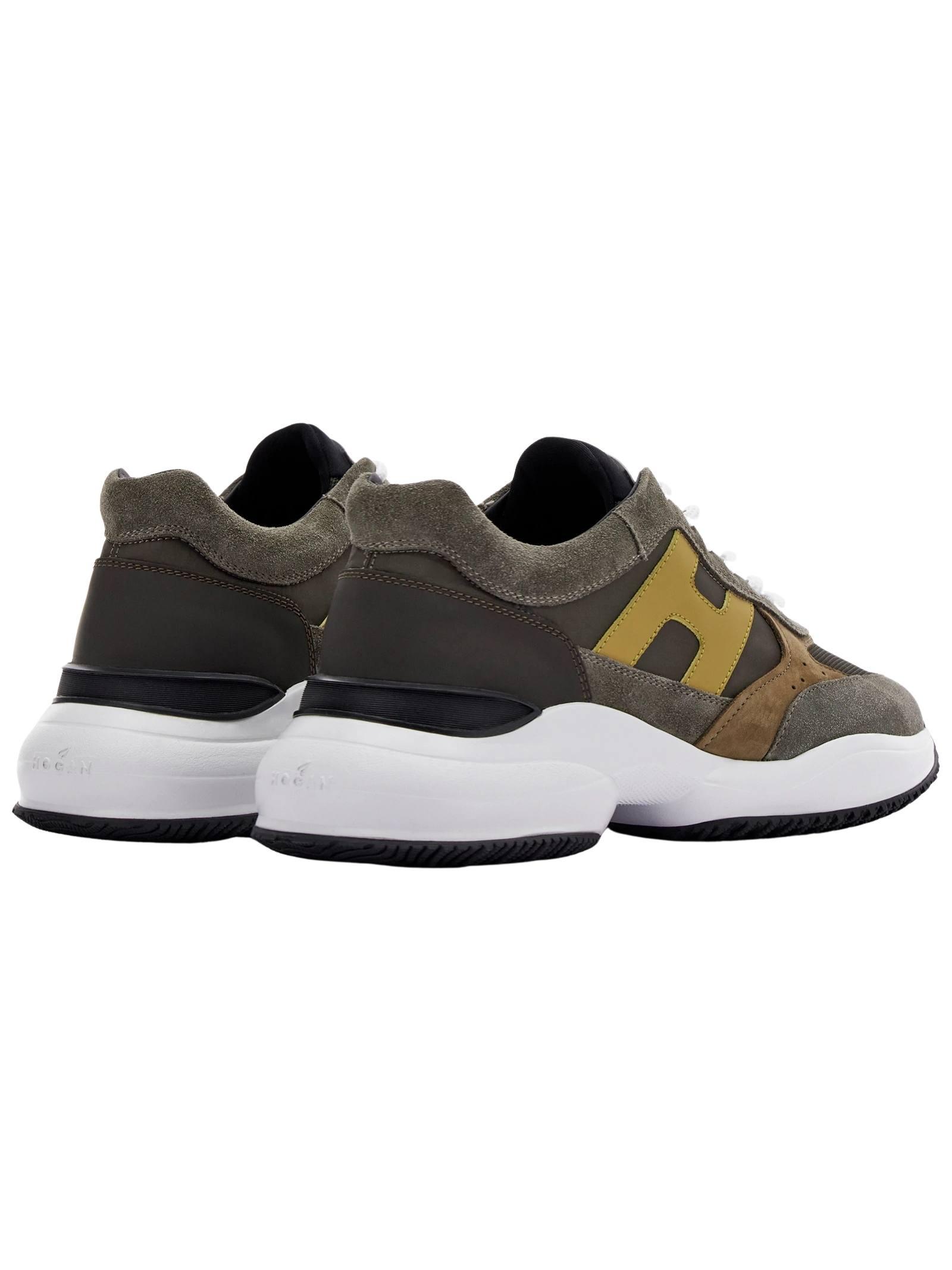Sneakers Hogan in camoscio