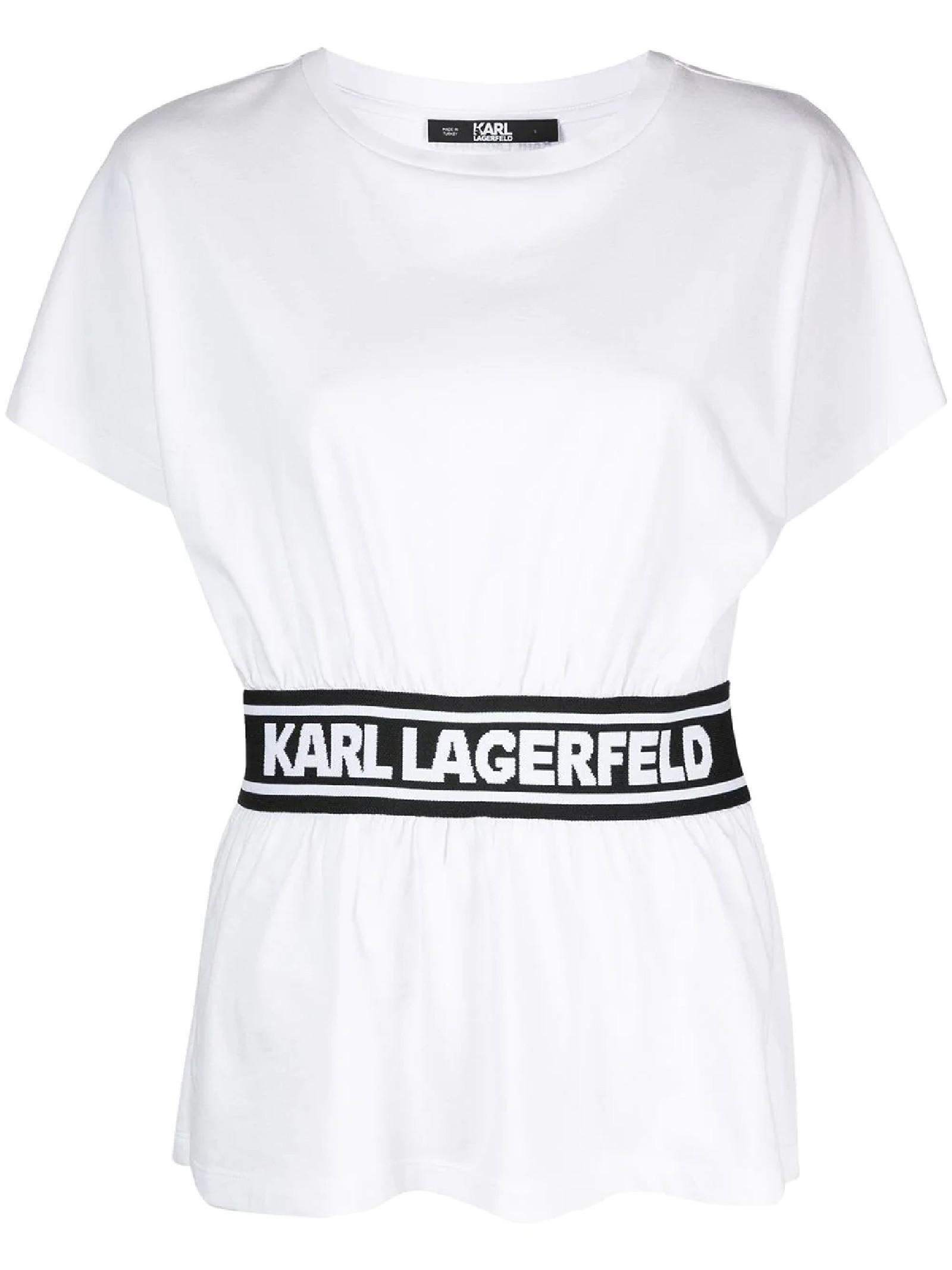 TOP CON NASTRO KARL KARL LAGERFELD | Top | 211W1705100