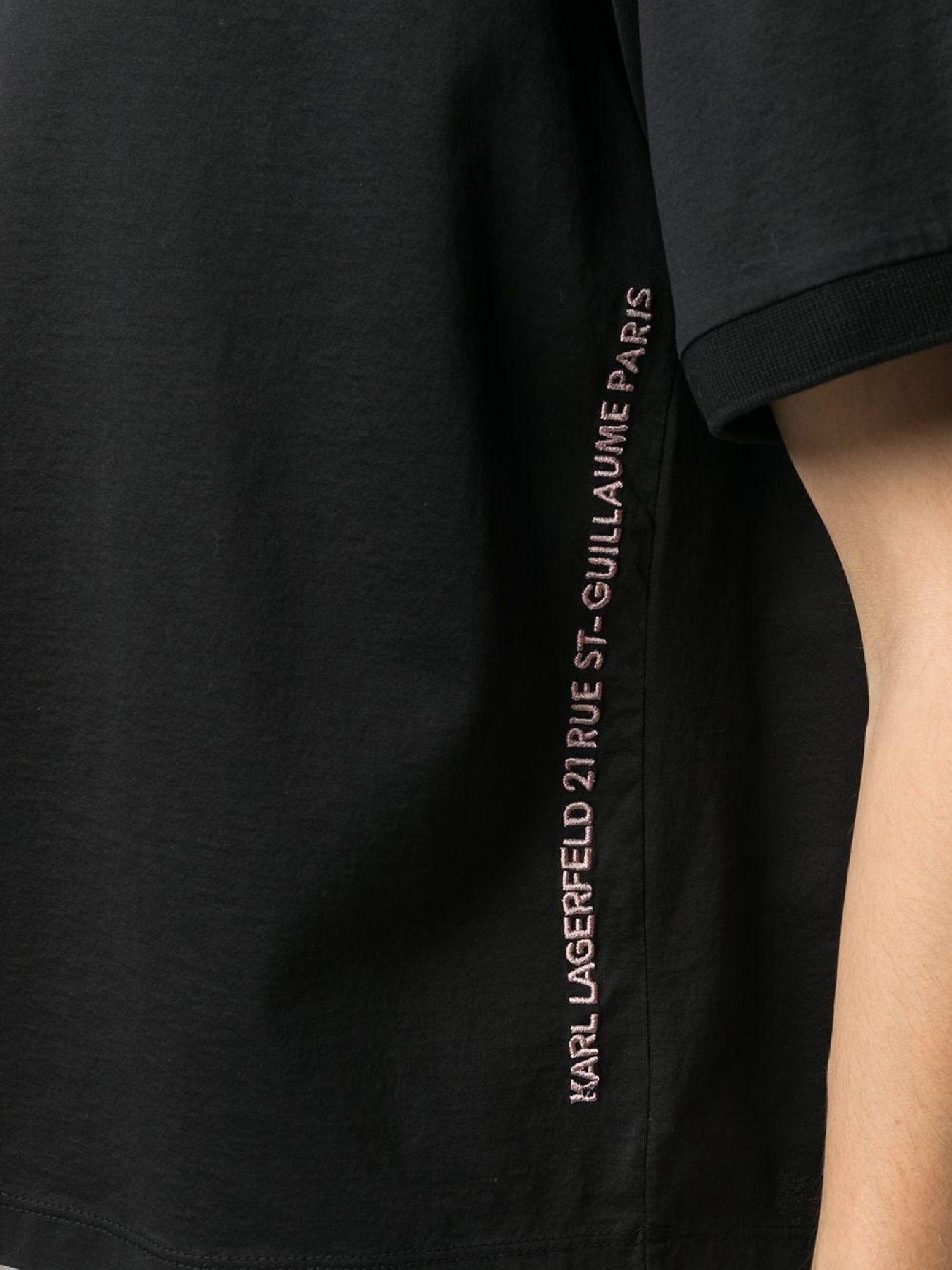 T-shirt logo print KARL LAGERFELD   T-shirt   211W1707999