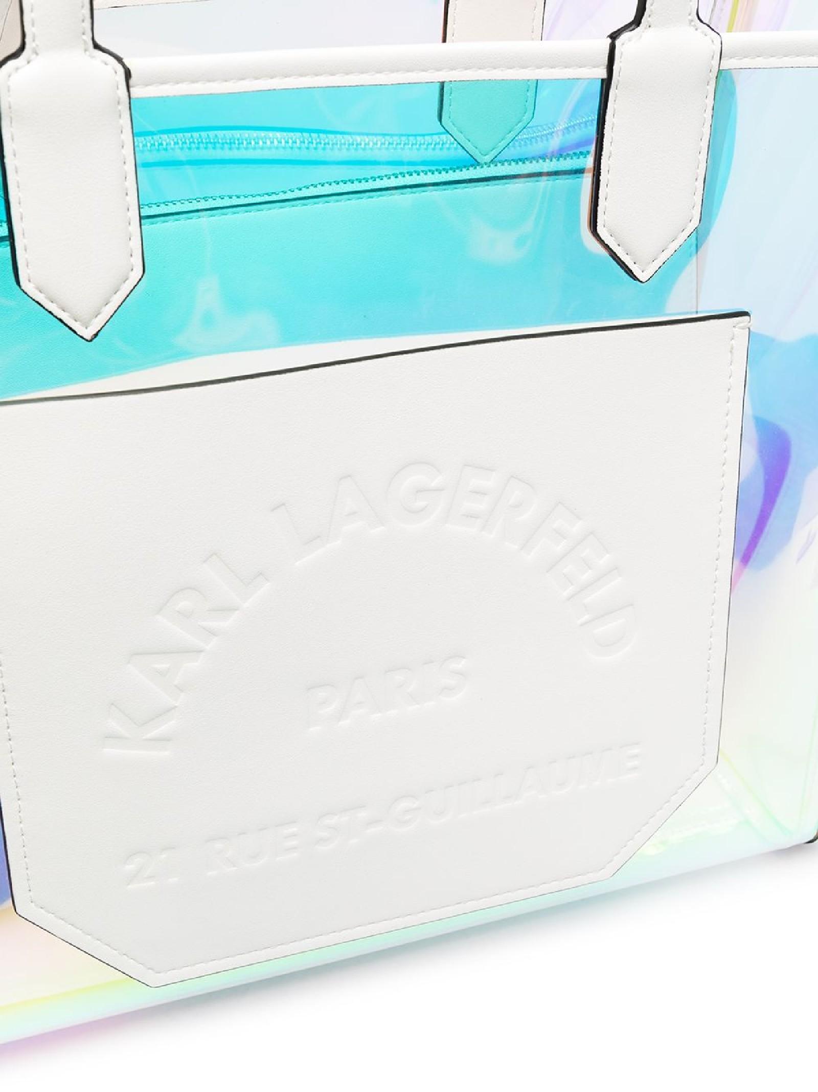 Borsa tote Journey Hologram KARL LAGERFELD | Borsa | 211W3039901/A901