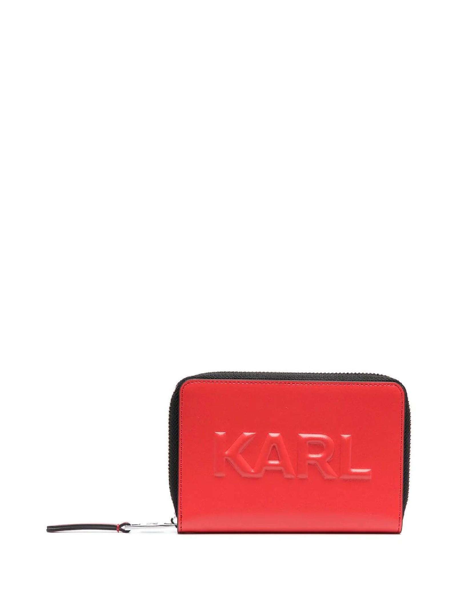 K/KARL SEVEN PORTAFOGLIO MEDIO GOFFRATO KARL LAGERFELD | Portafogli | 211W3217725/A725