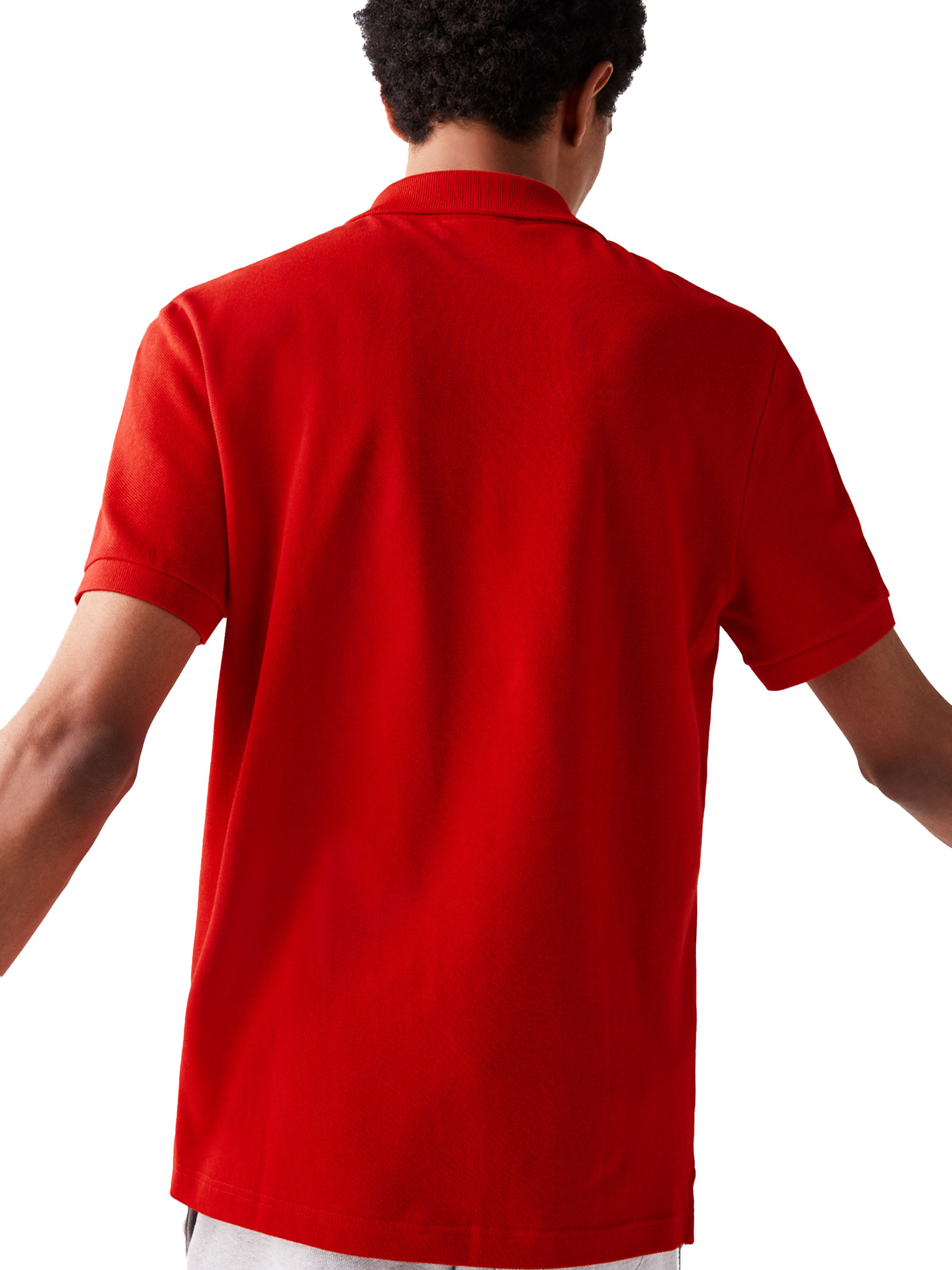 Polo slim fit rossa LACOSTE | Polo | PH4012240