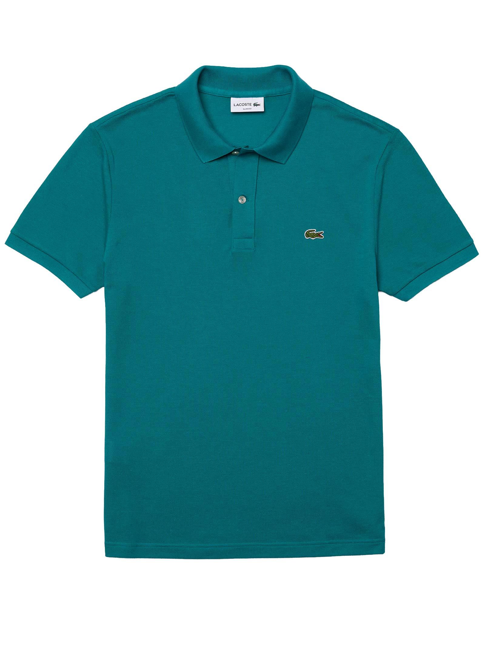 Polo  slim fit verde LACOSTE | Polo | PH4012F5T