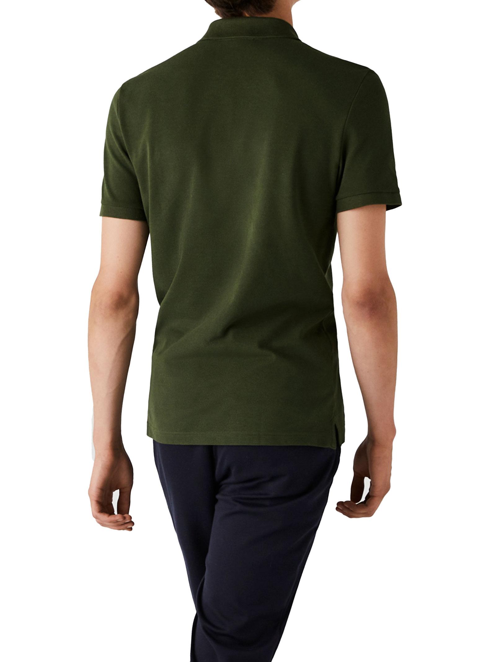 Polo  slim fit verde cachi  LACOSTE   Polo   PH4012S7T