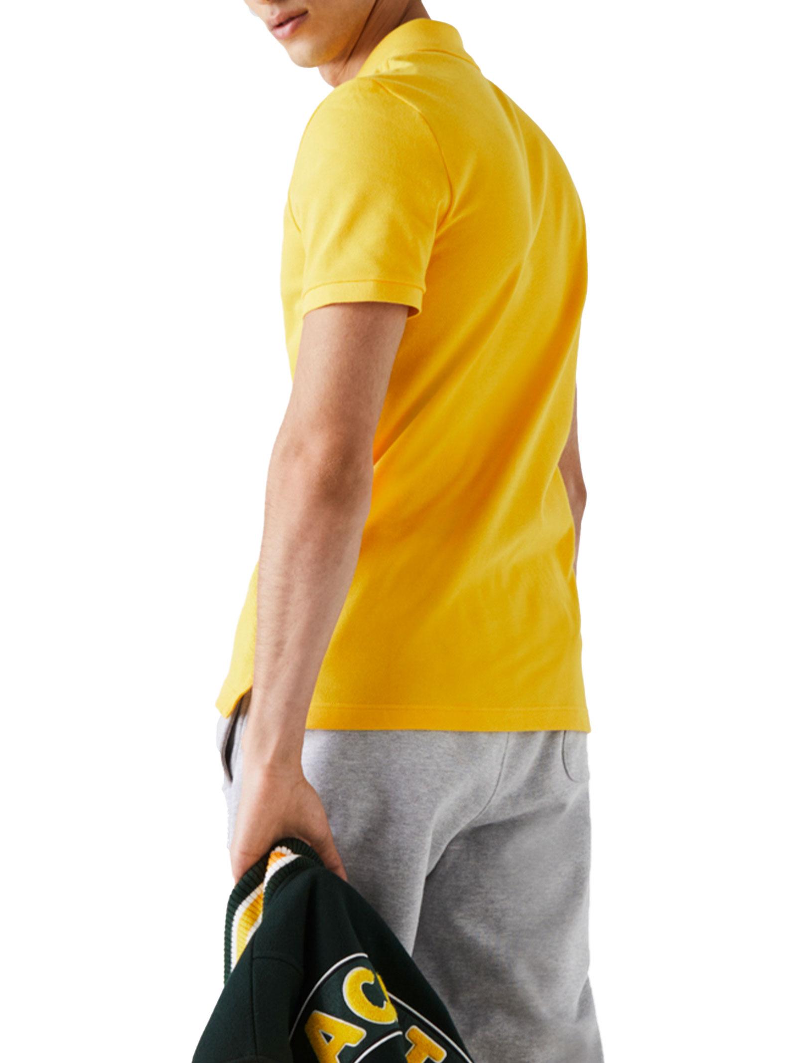 Polo  slim fit giallo  LACOSTE | Polo | PH4012US3