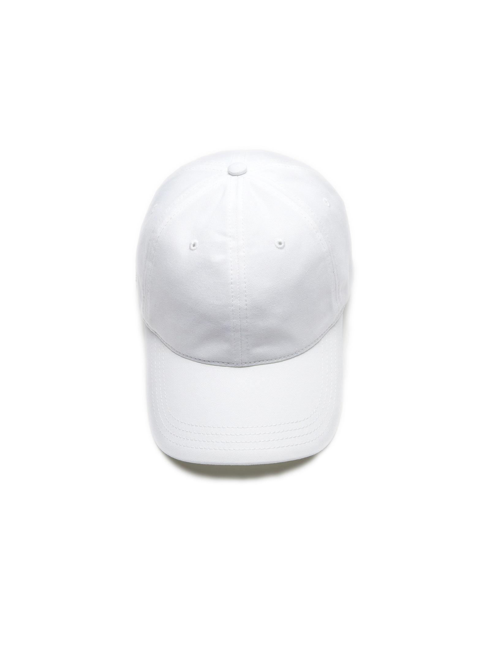 Cappelllo in cotone bianco LACOSTE | Cappello | RK4709001