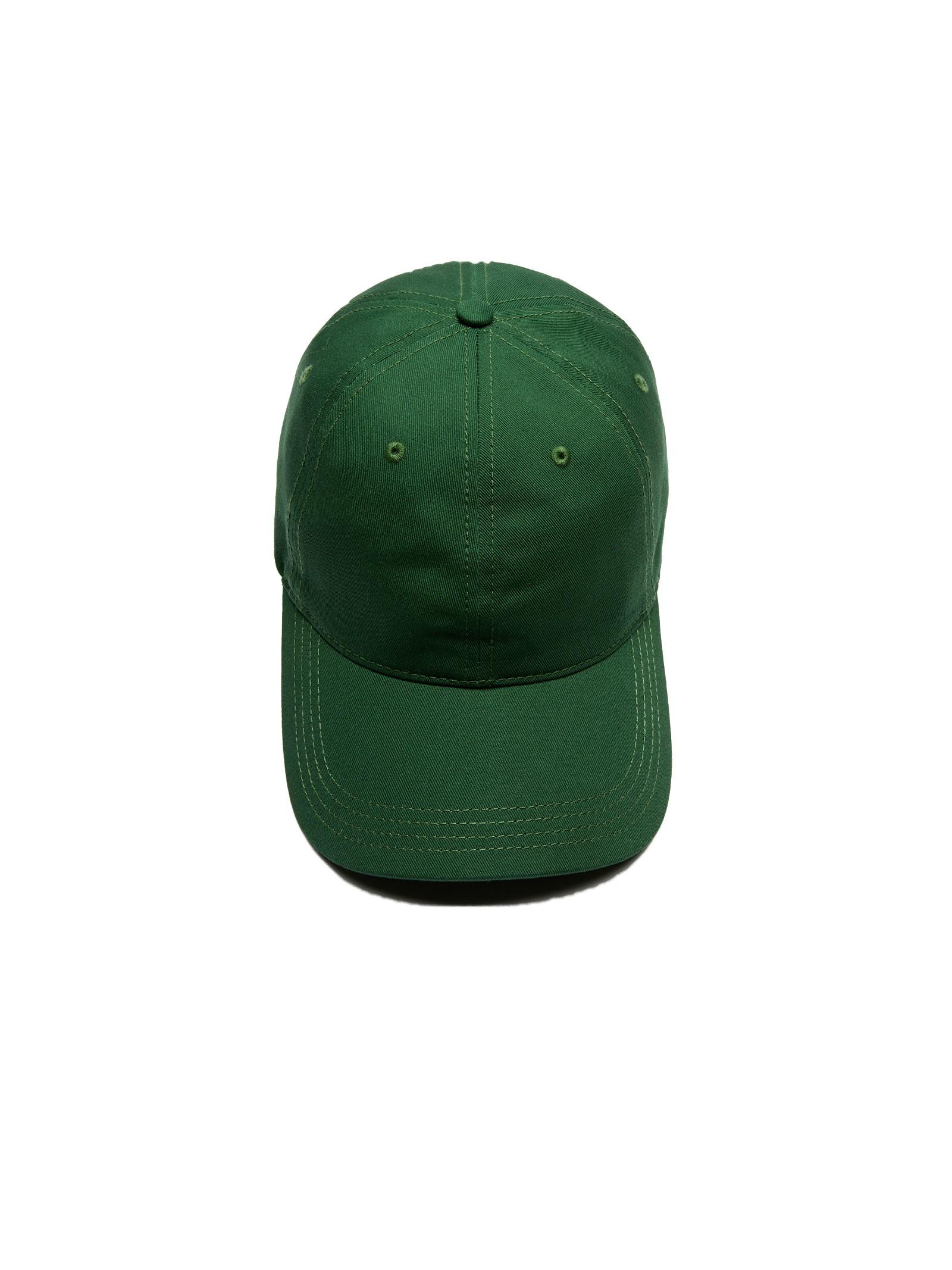 Cappelllo in cotone verde LACOSTE   Cappello   RK4709132
