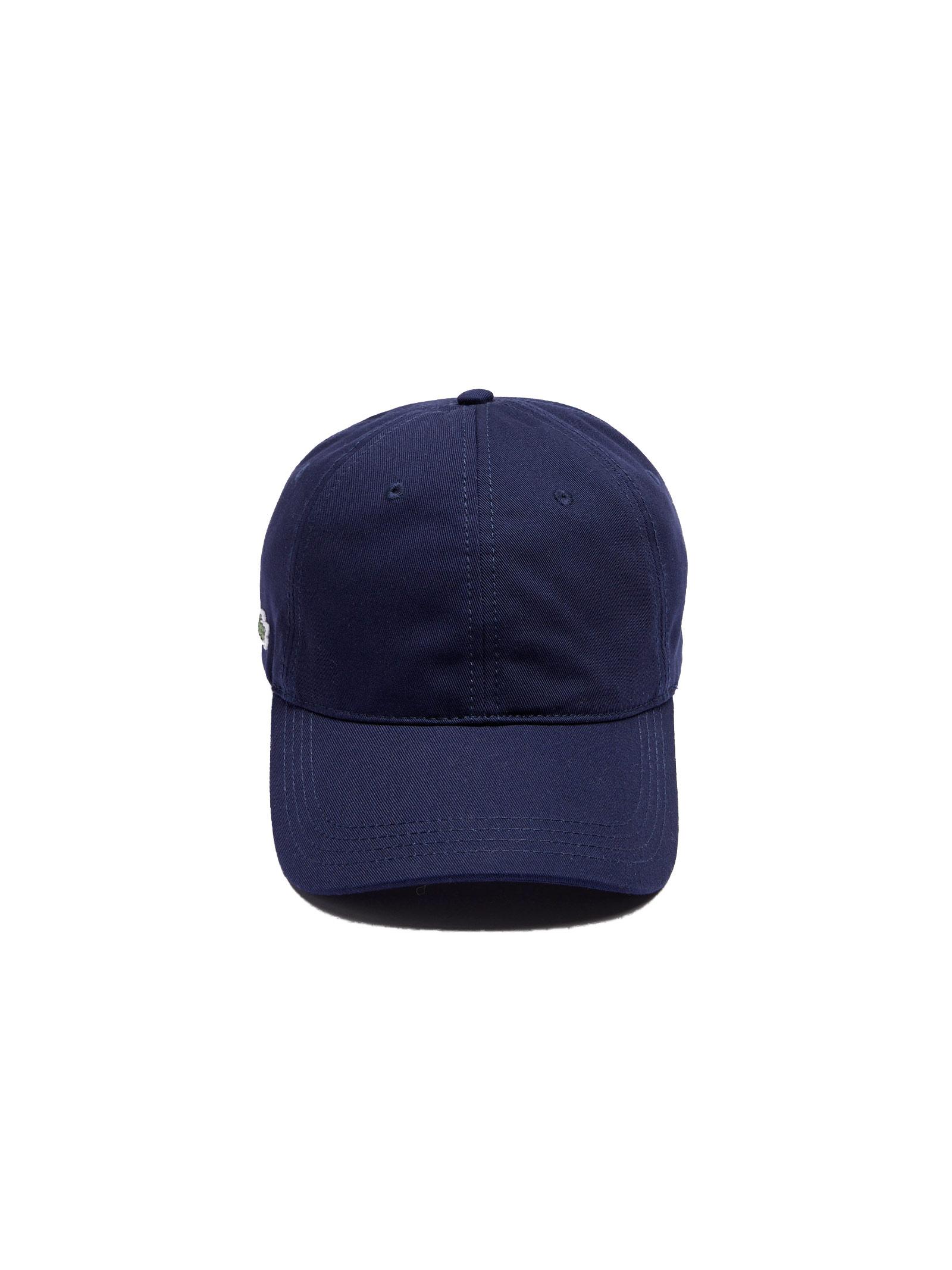Cappelllo in cotone blu navy LACOSTE | Cappello | RK4709166