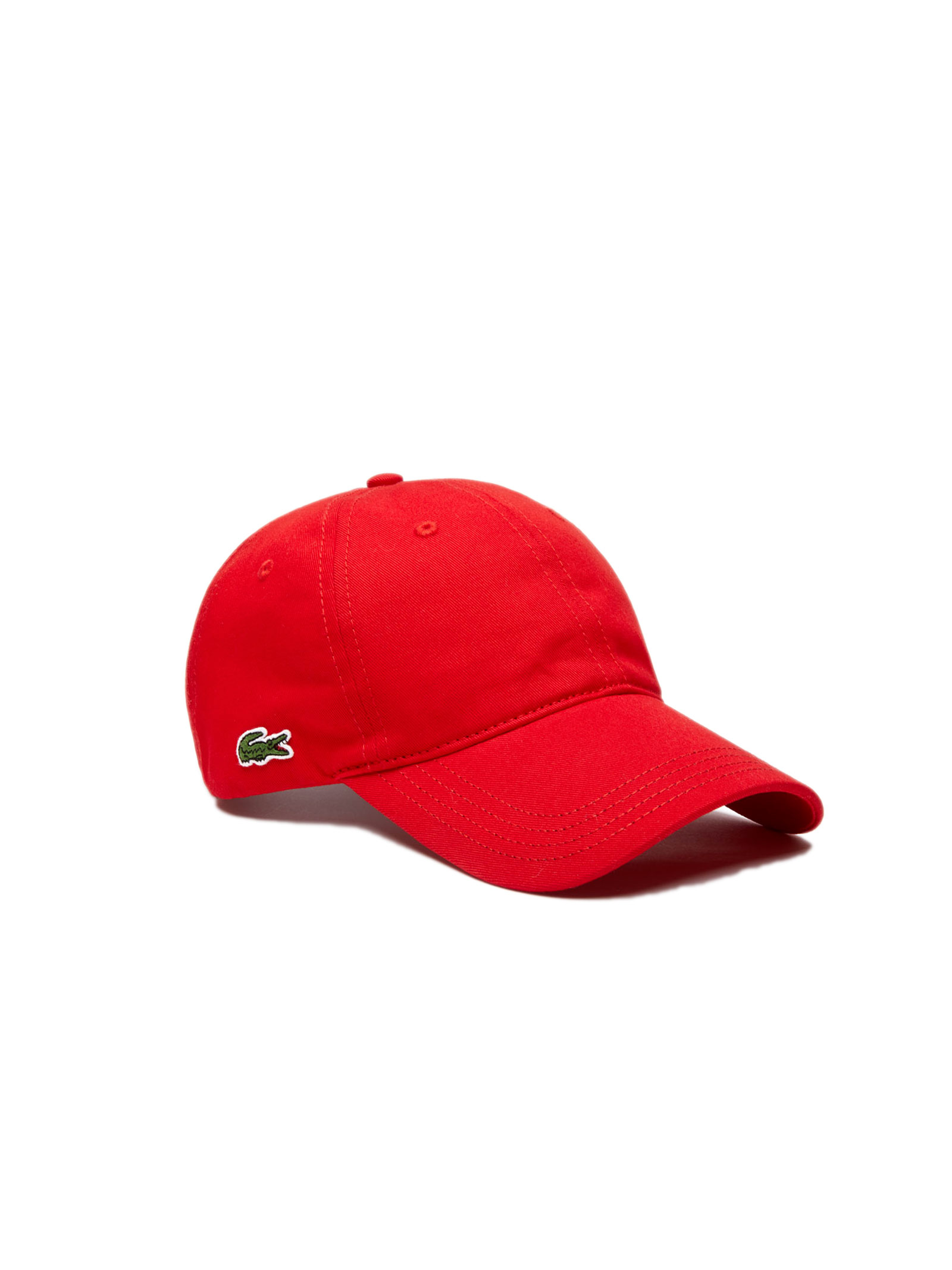 Cappelllo in cotone rosso LACOSTE | Cappello | RK4709240
