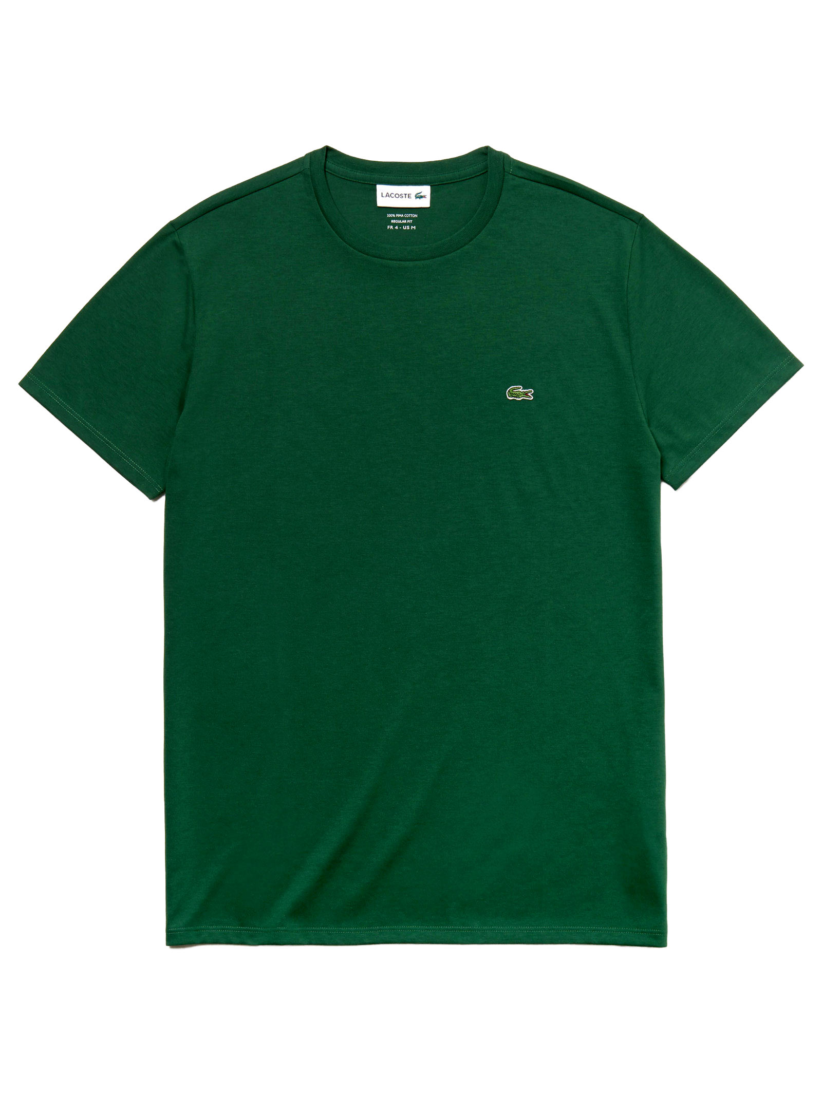 T-shirt a girocollo verde LACOSTE | T-shirt | TH6709132