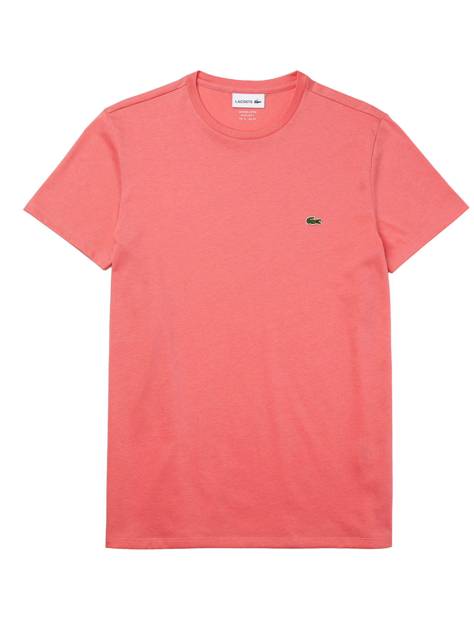 T-shirt a girocollo rosa LACOSTE | T-shirt | TH6709F9C