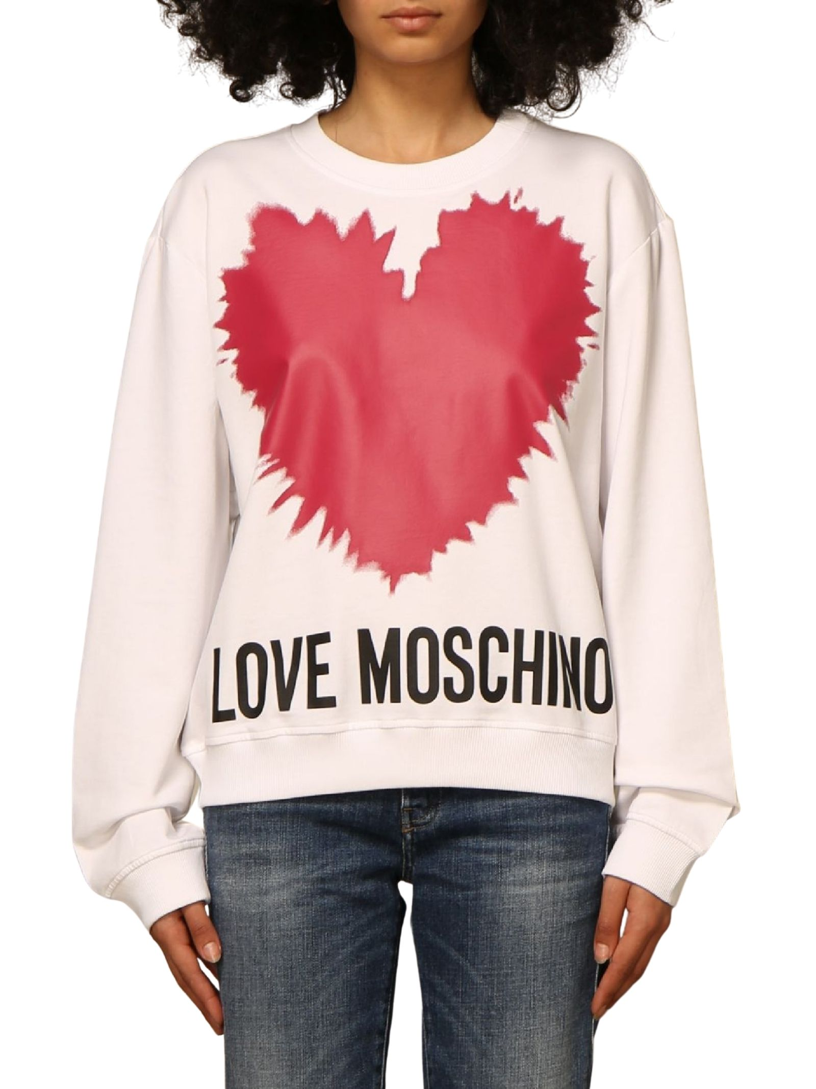 MOSCHINO LOVE | Felpa | W 6 306 43 M 4282A00