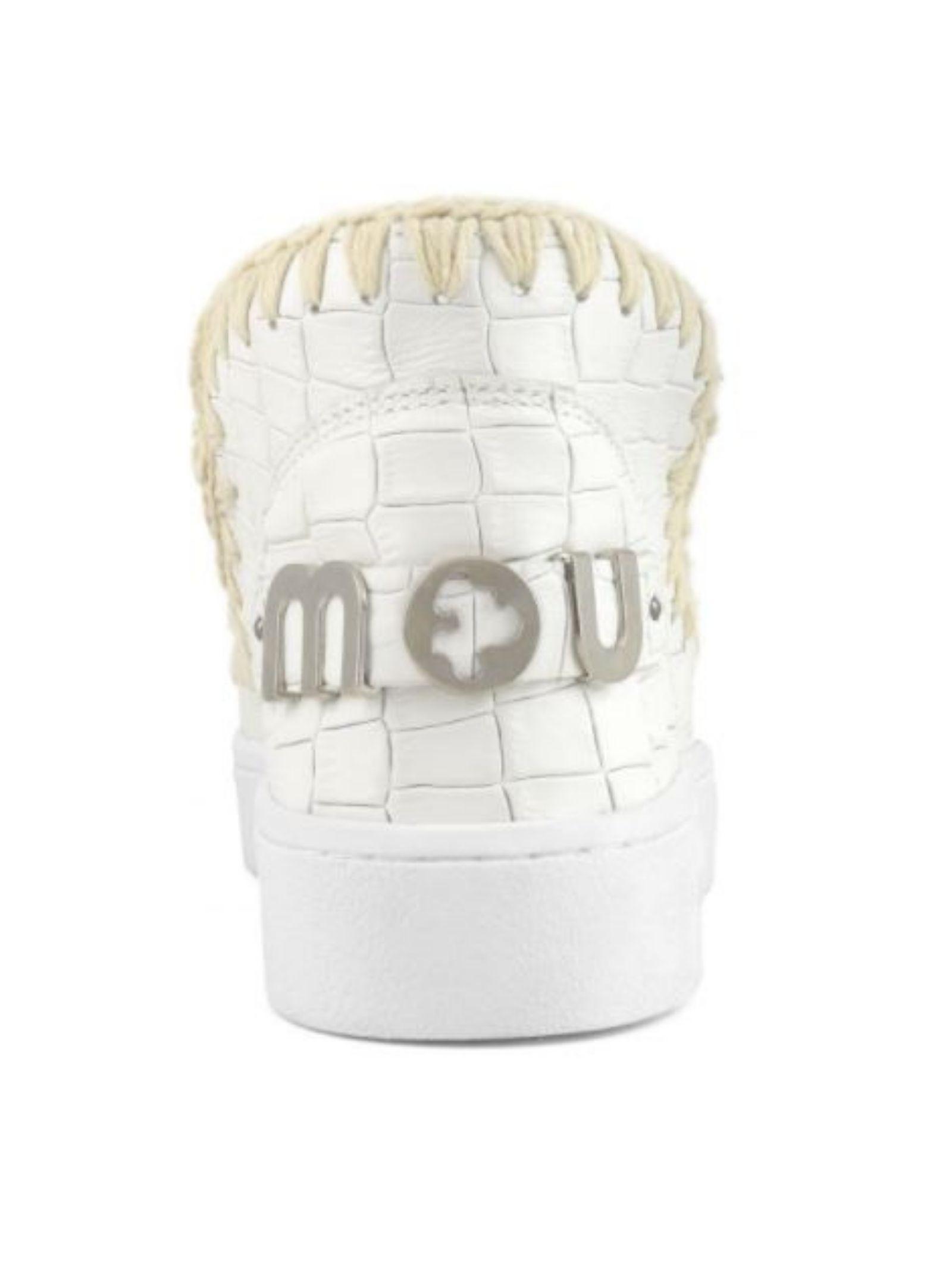 Eskimo sneaker special italian leather MOU | Scarpe | MU.SW211001R/COCWWHITE