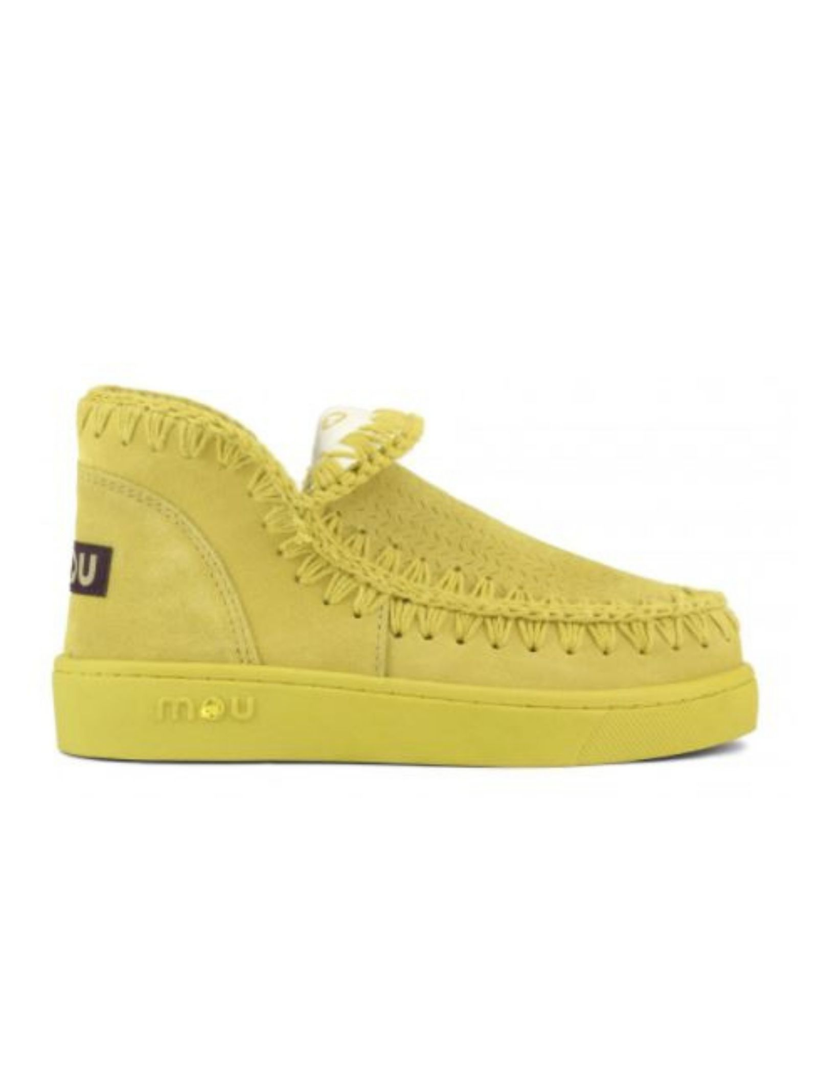 Eskimo sneaker monochrome MOU | Scarpe | MU.SW211011O/CAYEYELLOW