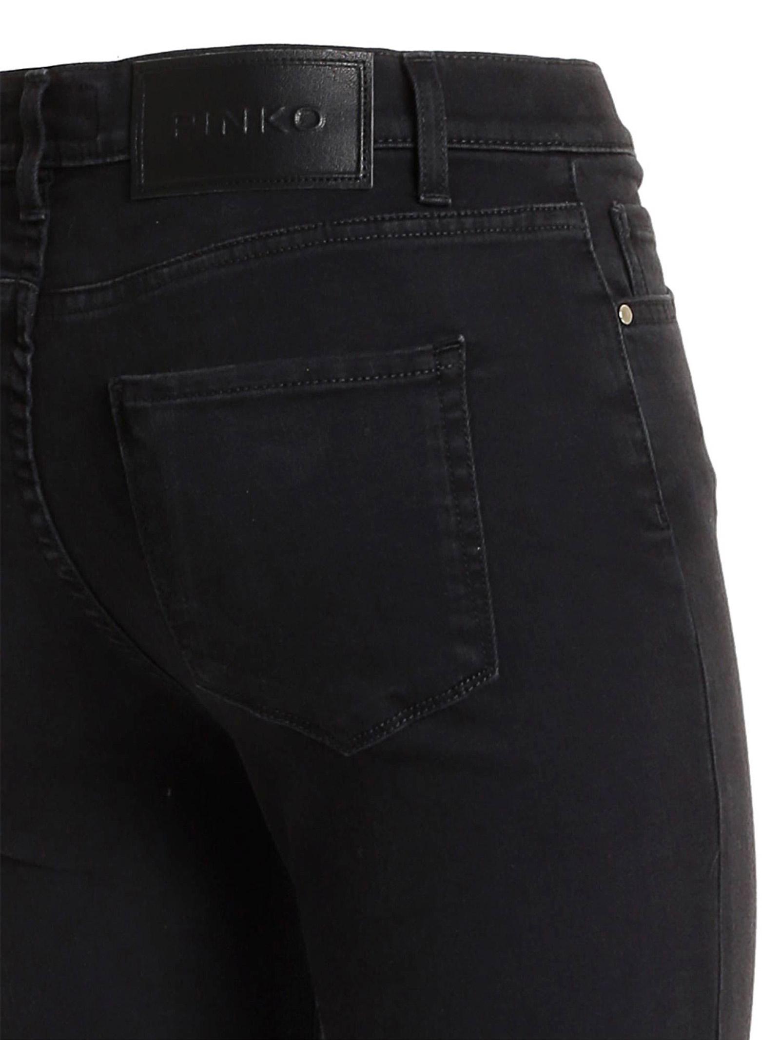 SKINNY JEANS IN BLACK DENIM PINKO | Jeans | 1J10KJ-Y6VLZ99