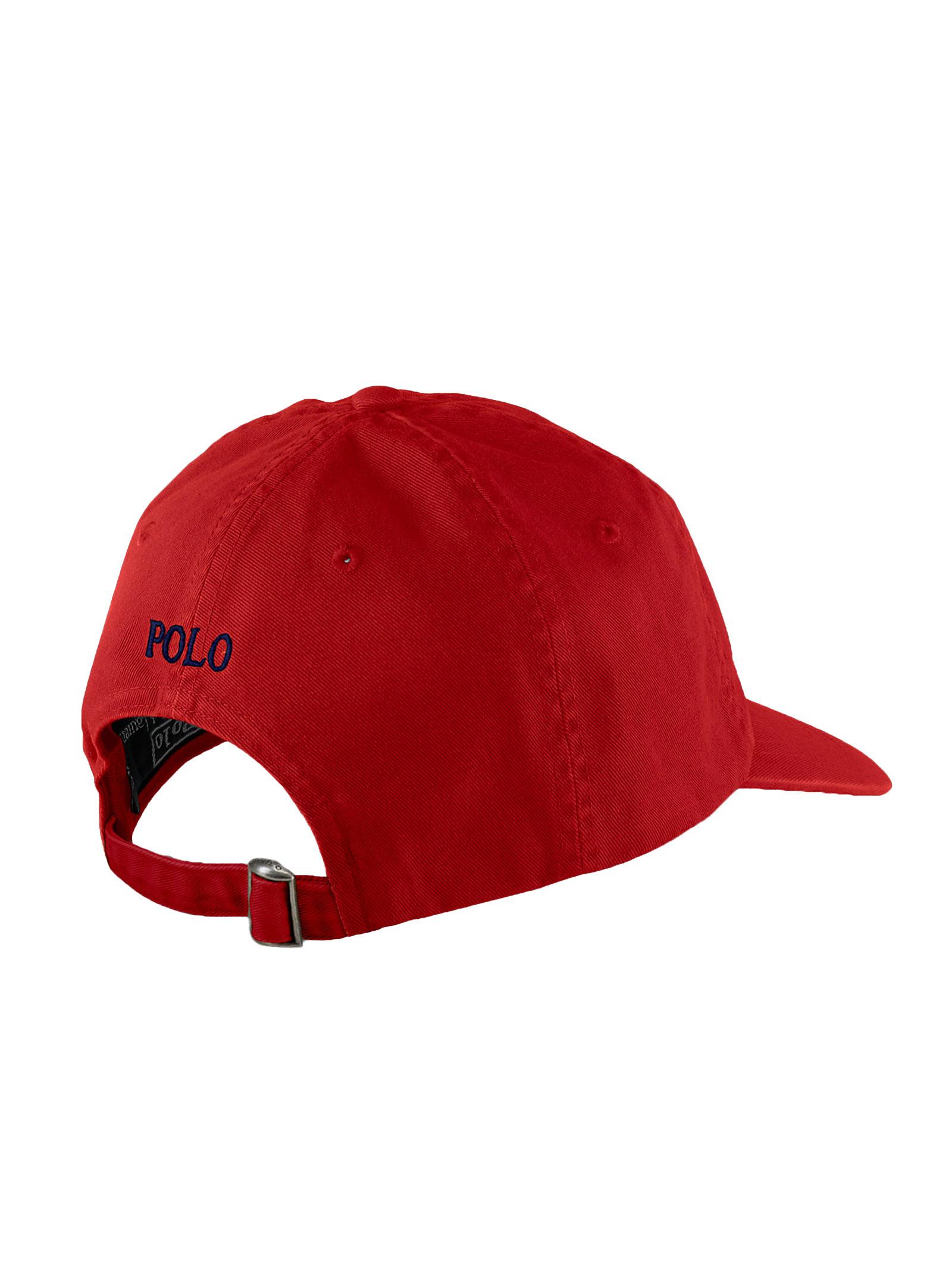 Cappello con visiera rosso RALPH LAUREN | Cappello | 710-548524002