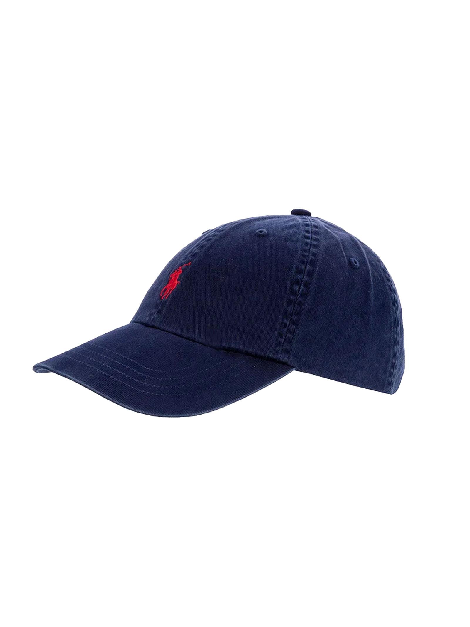 Cappello con visiera blu RALPH LAUREN   Cappello   710-548524007